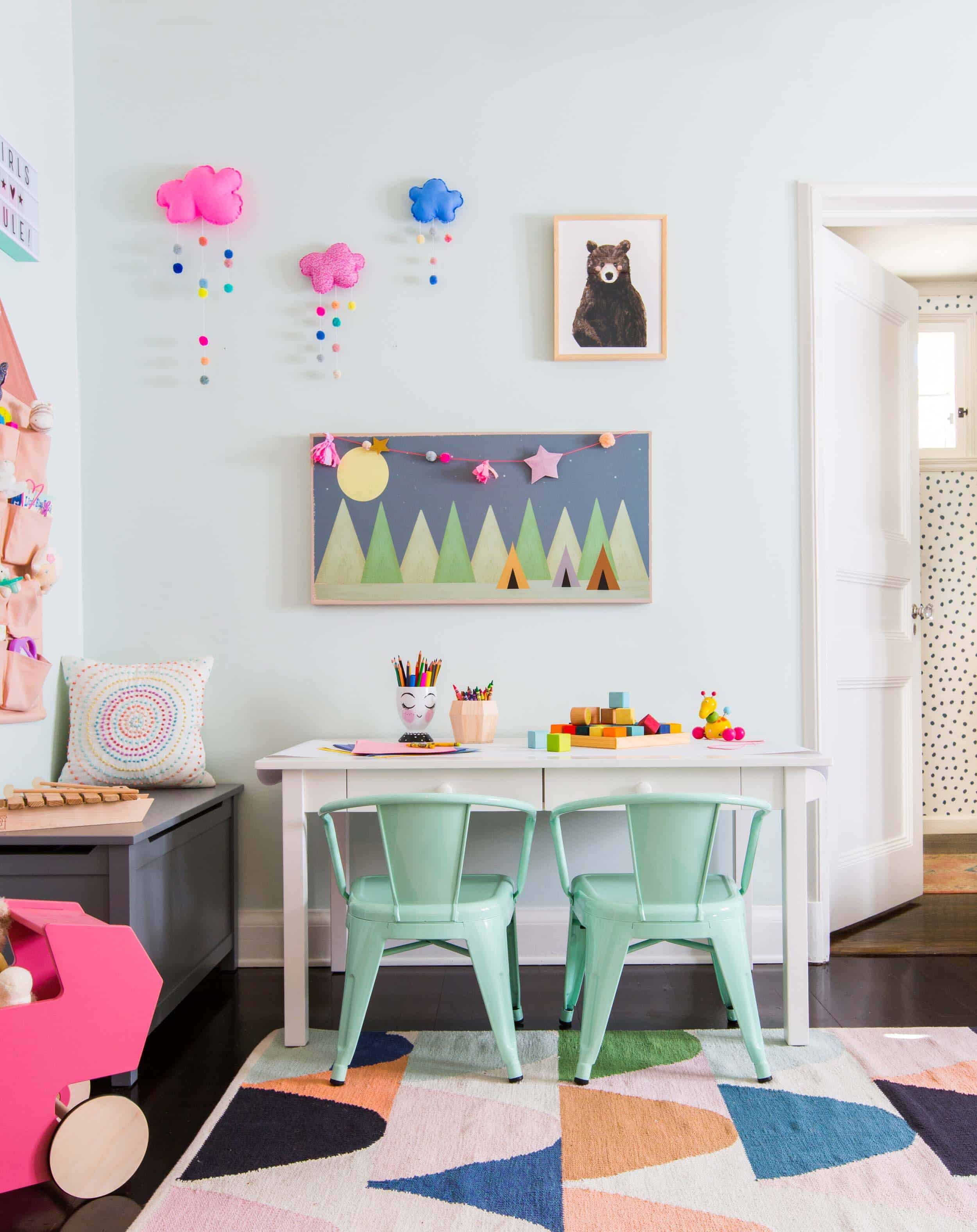 Emily Henderson_Full Design_Girls Playroom_Whimsical_Pink_Playful_5