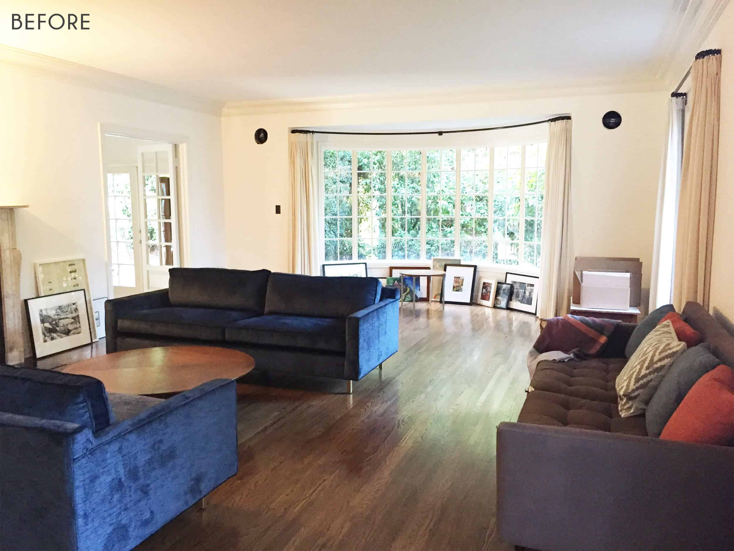 Emily Henderson_Griffith Park Home_Traditional_Italian_Mid Century_Living_Room_Before_1