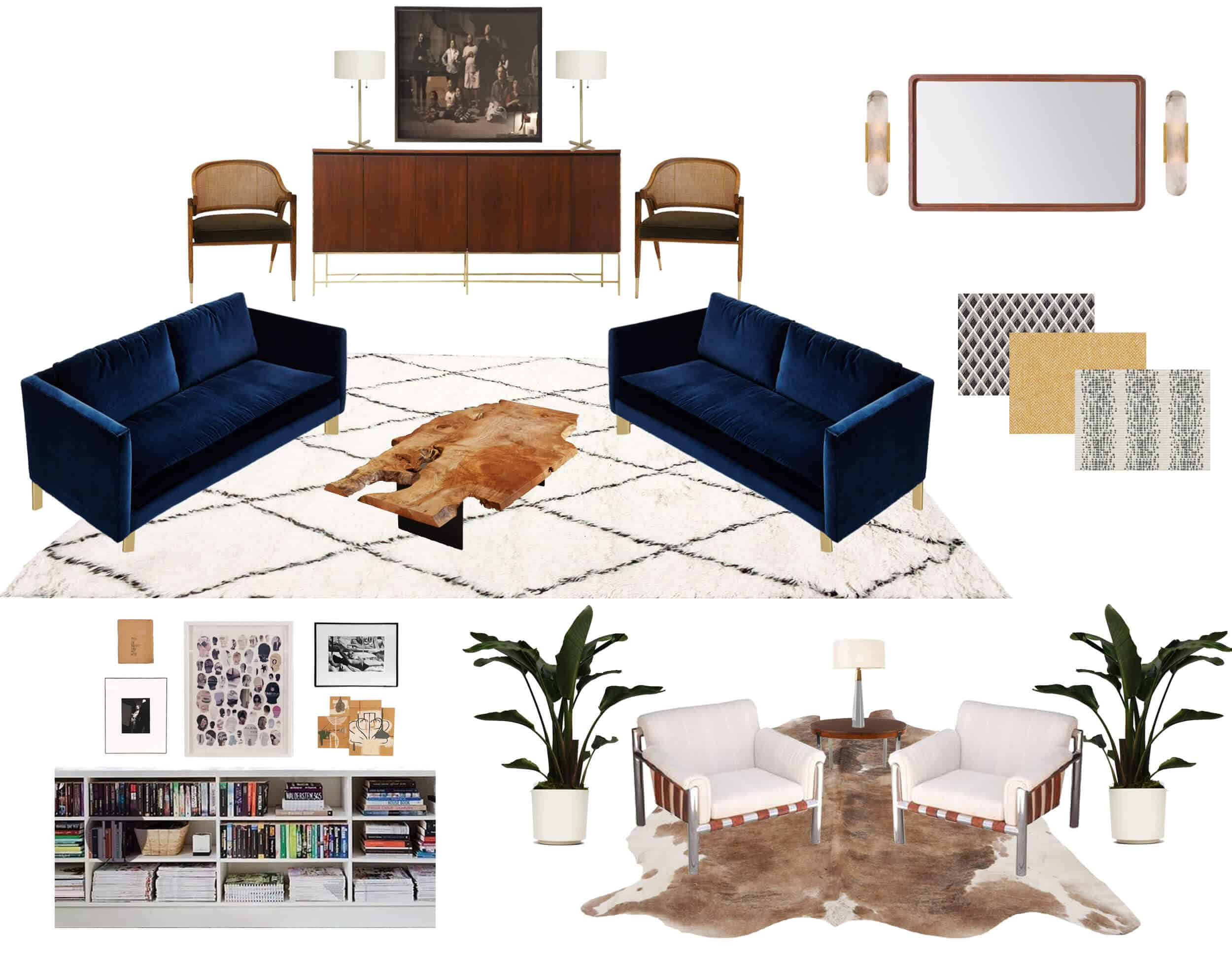 Emily Henderson_Griffith Park Home_Traditional_Italian_Mid Century_Living_Room_MoodBoard