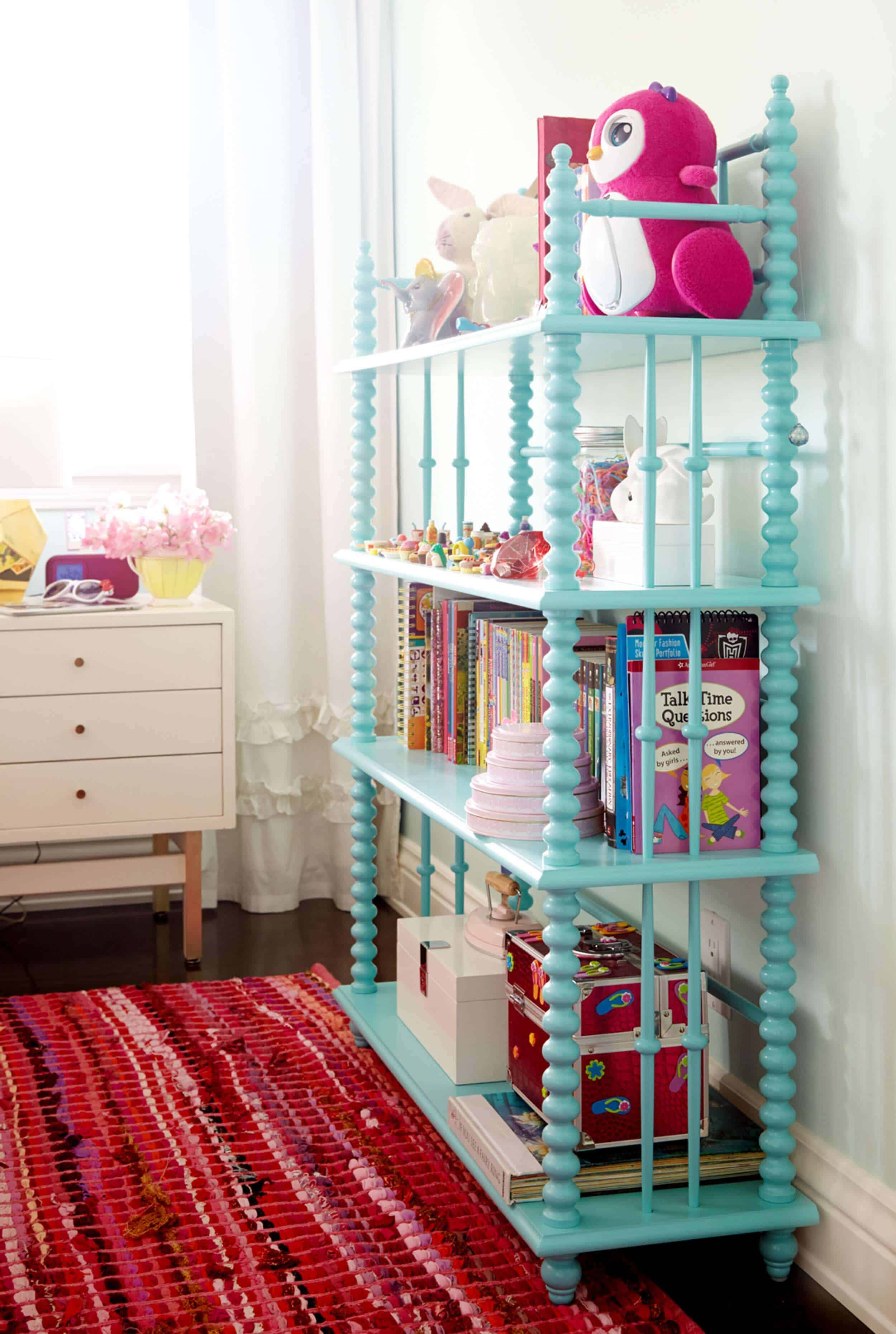 Emily Henderson_Shelves_Tall_WIde_Accent_Organization_Bookcase_2