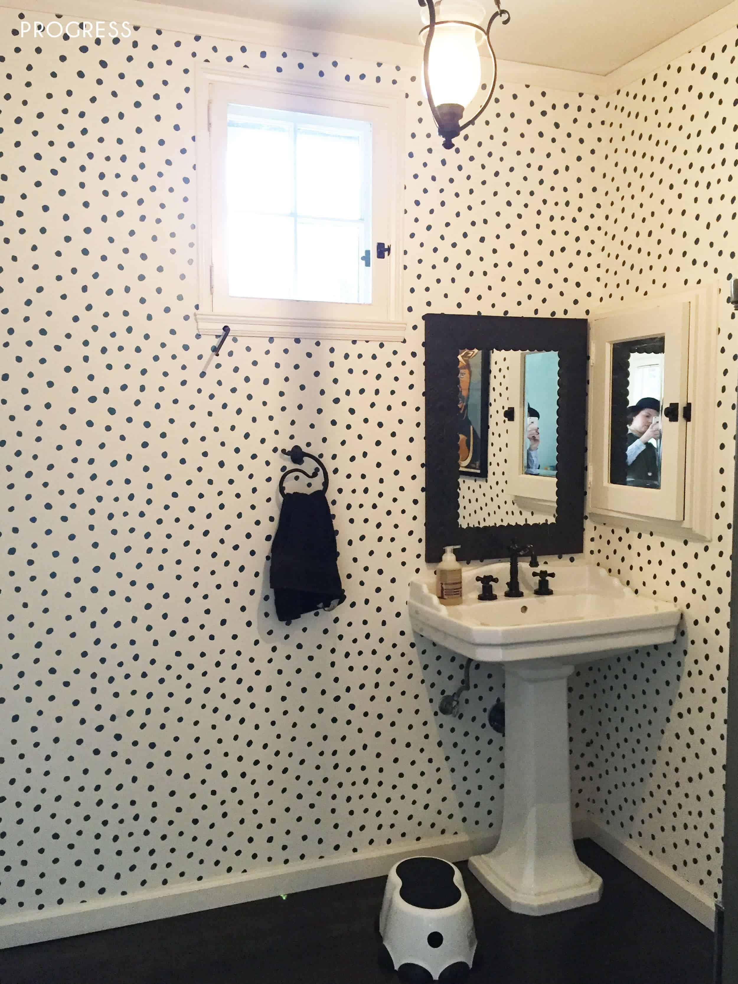 Playroom_Girls_Bright_Happy_Modern_Emily Henderson_Bathroom_Progress