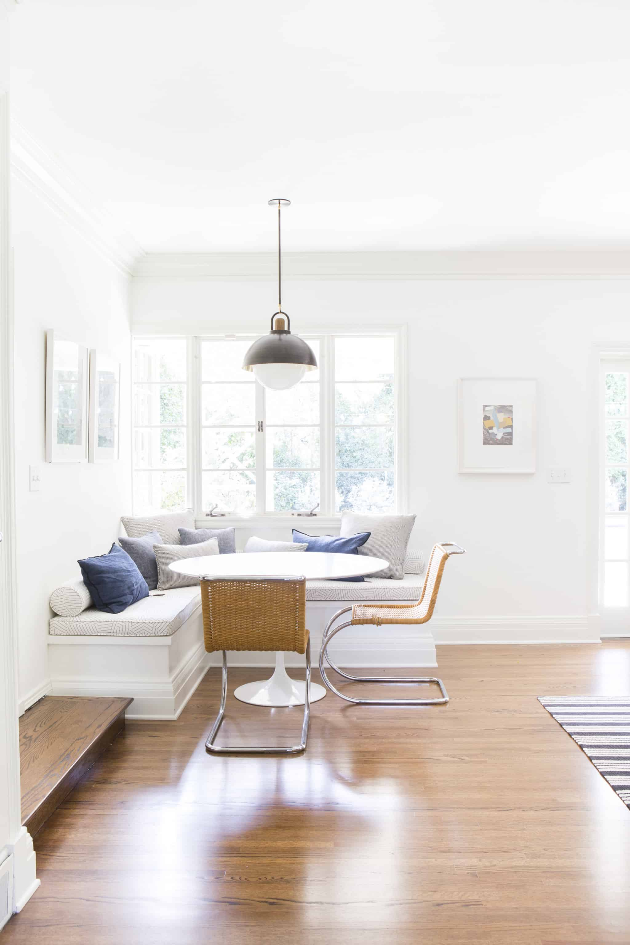 A Bright And Modern Sunroom Intro Emily Henderson