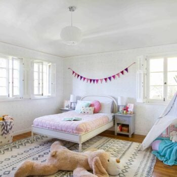 Emily Henderson_Full Design_Little Girls Room_Pink_Gray_Playful_Pics_3