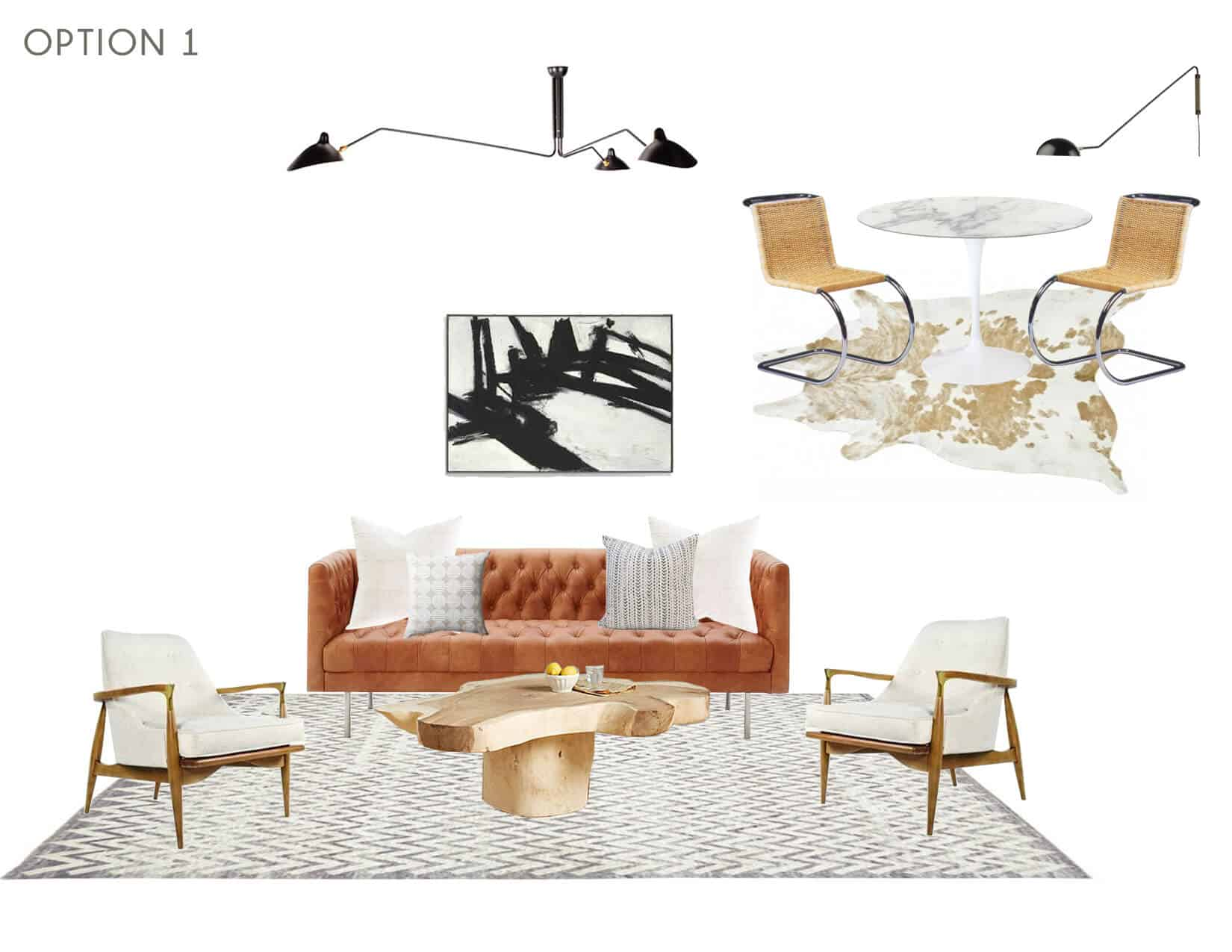 Emily Henderson_Full Design_Sunroom_Introduction_Moodboard_Option 1