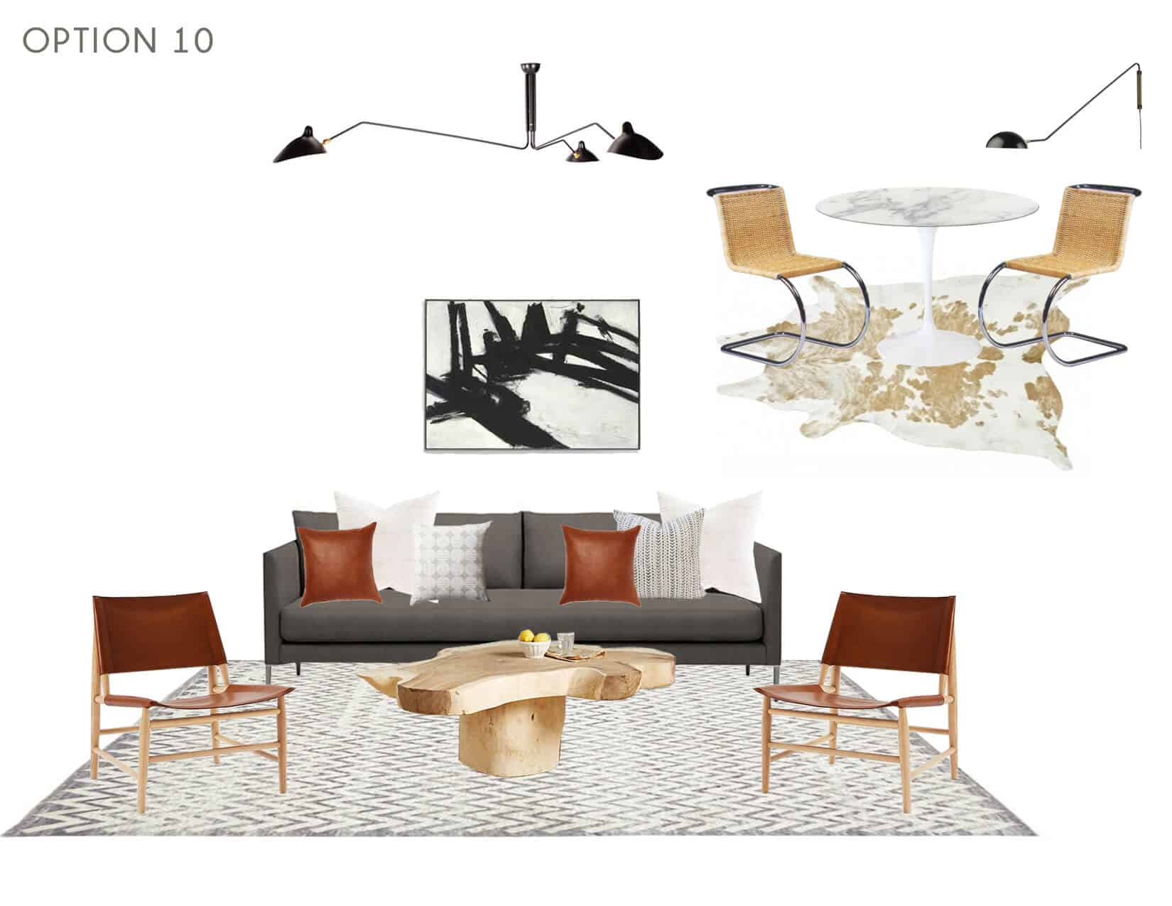 Emily Henderson_Full Design_Sunroom_Introduction_Moodboard_Option 10
