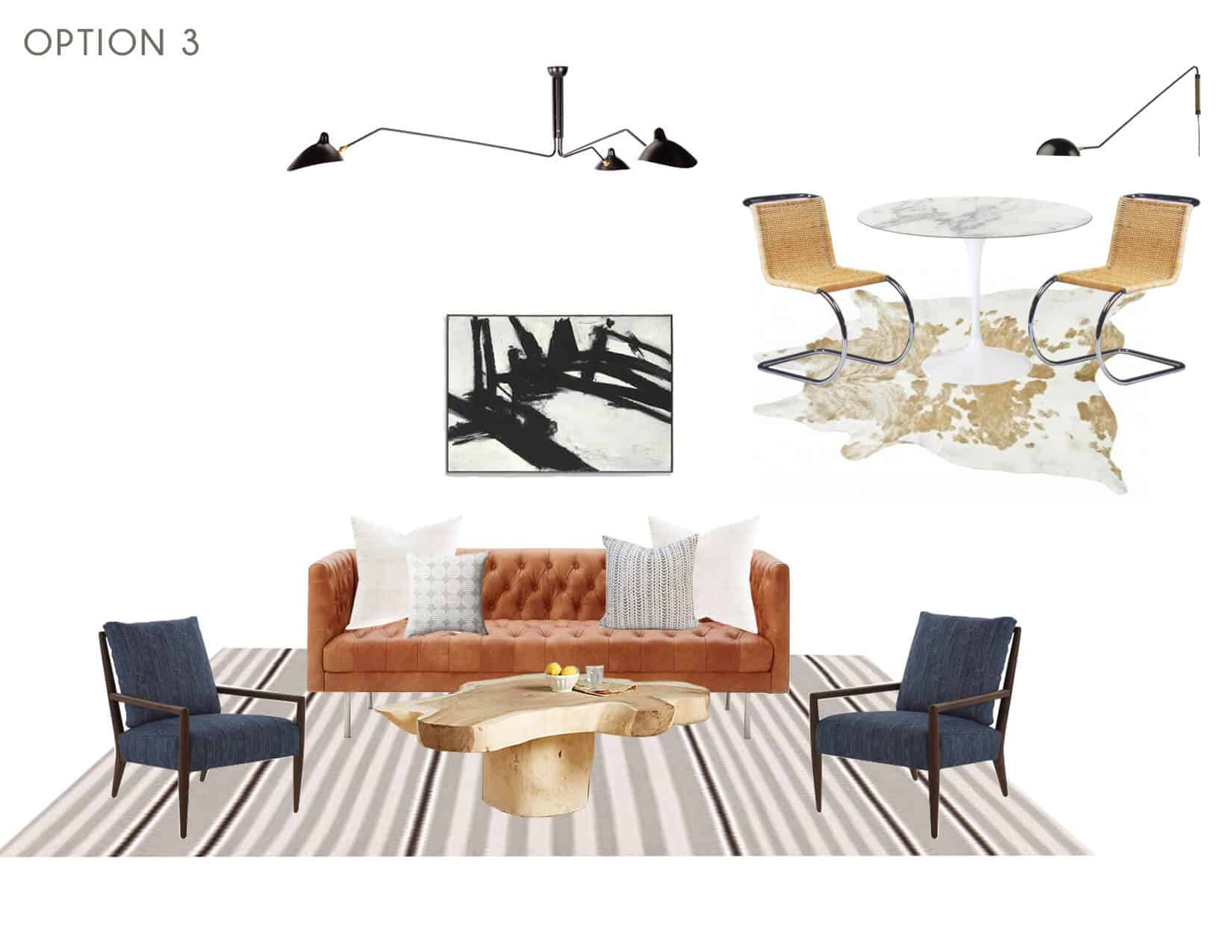Emily Henderson_Full Design_Sunroom_Introduction_Moodboard_Option 3