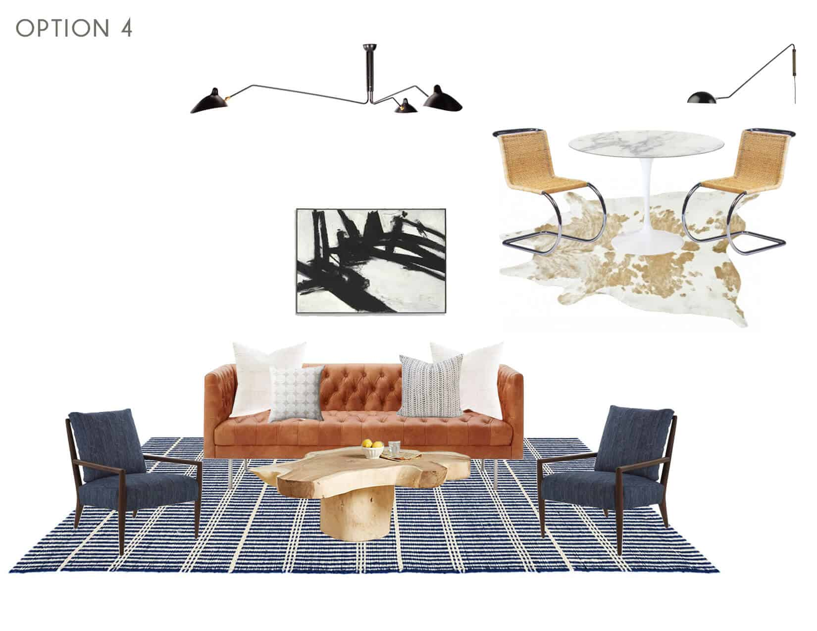 Emily Henderson_Full Design_Sunroom_Introduction_Moodboard_Option 4