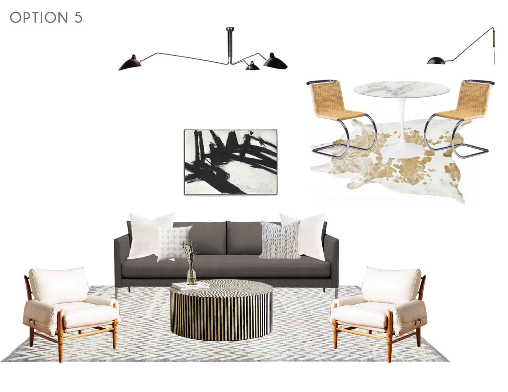 Emily Henderson_Full Design_Sunroom_Introduction_Moodboard_Option 5