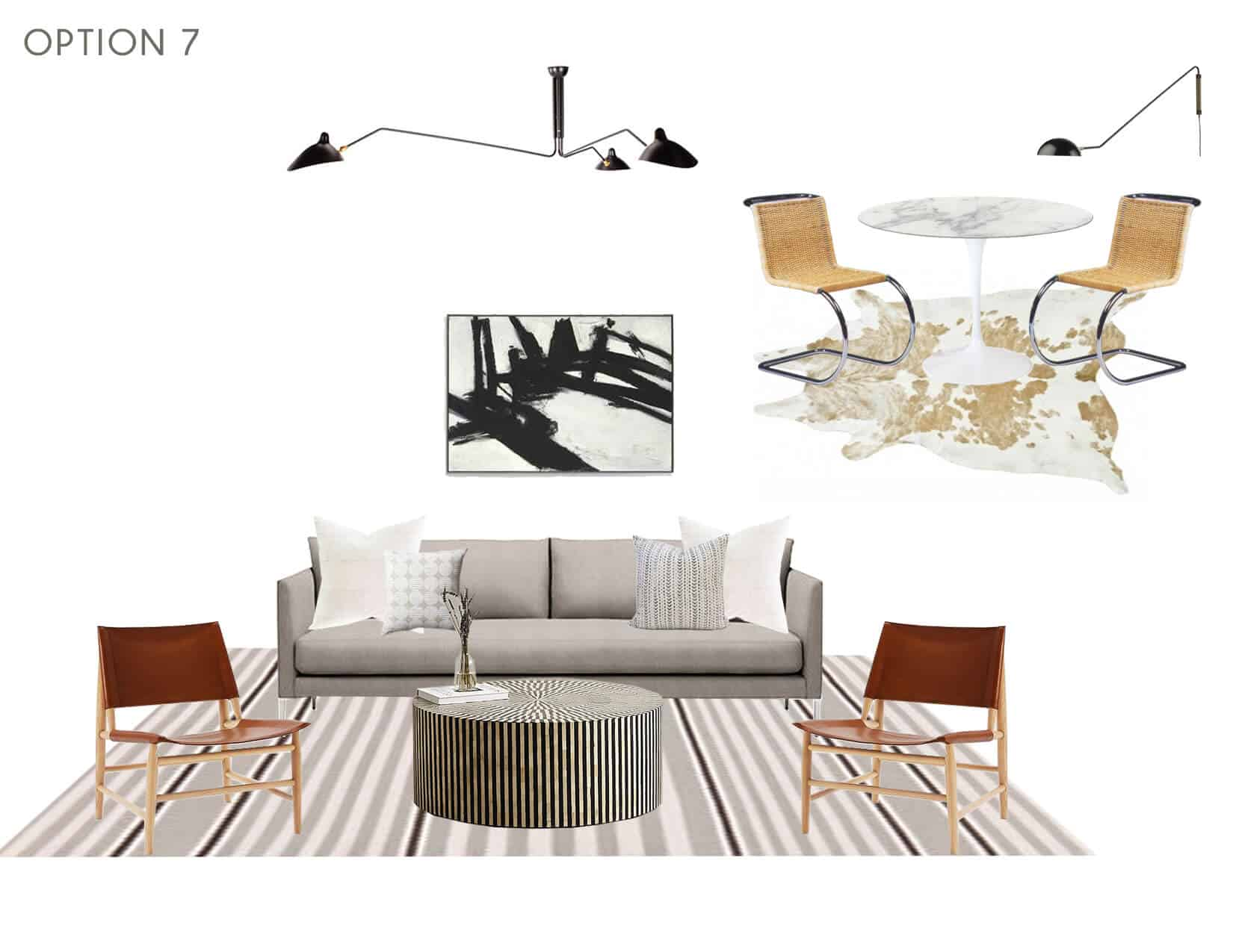 Emily Henderson_Full Design_Sunroom_Introduction_Moodboard_Option 7