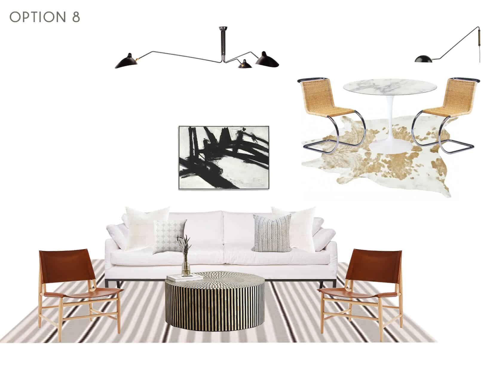 Emily Henderson_Full Design_Sunroom_Introduction_Moodboard_Option 8