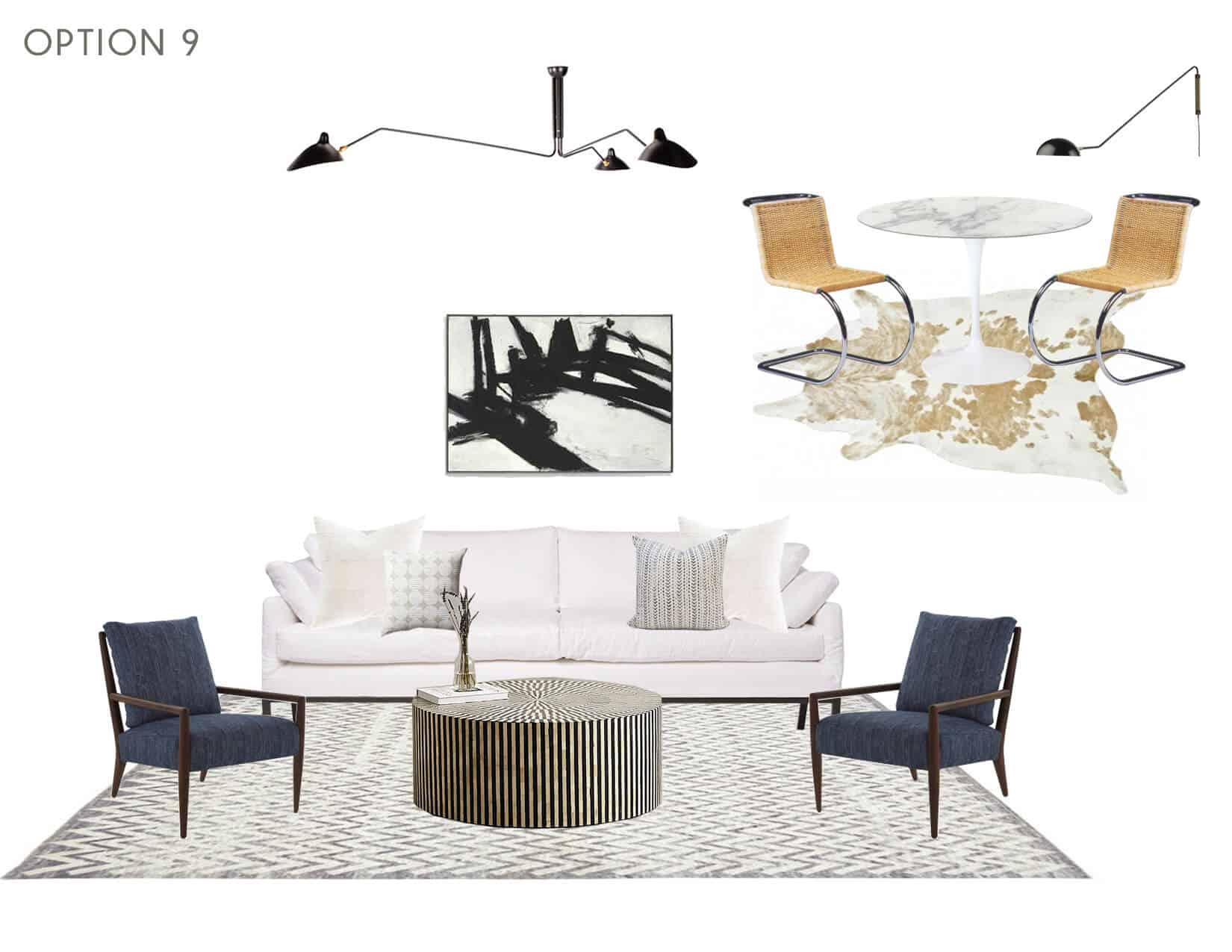 Emily Henderson_Full Design_Sunroom_Introduction_Moodboard_Option 9
