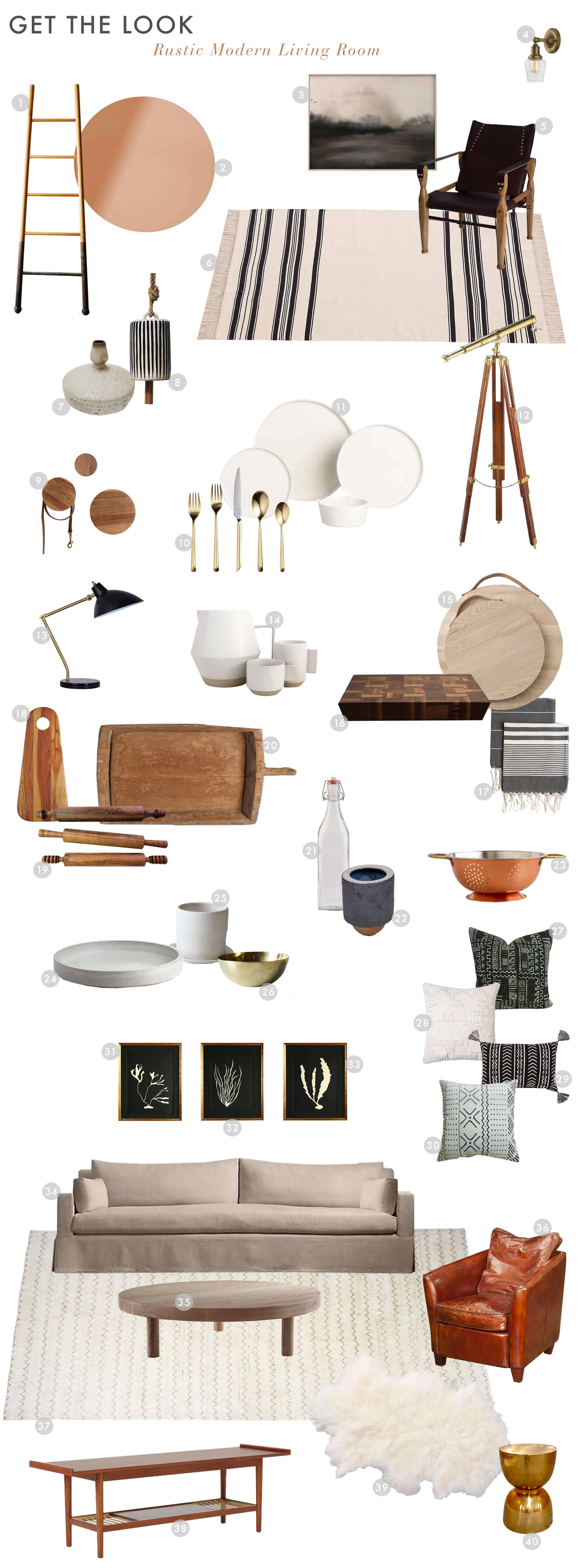 Emily Henderson_House Tour_Tomer_Styled_Book_Modern_Rustic_Get the Look