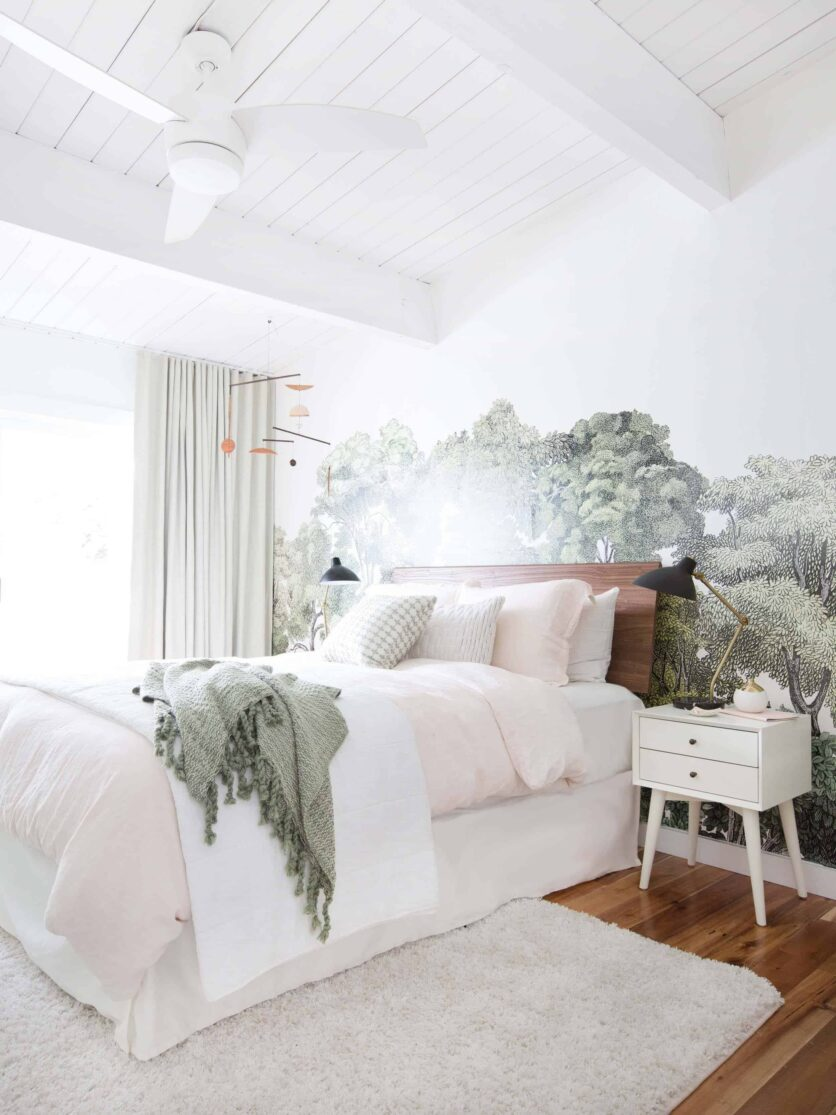 Emily Henderson_Staging to Sell_Guest Room_Light_Natural_Floral_1_Edited