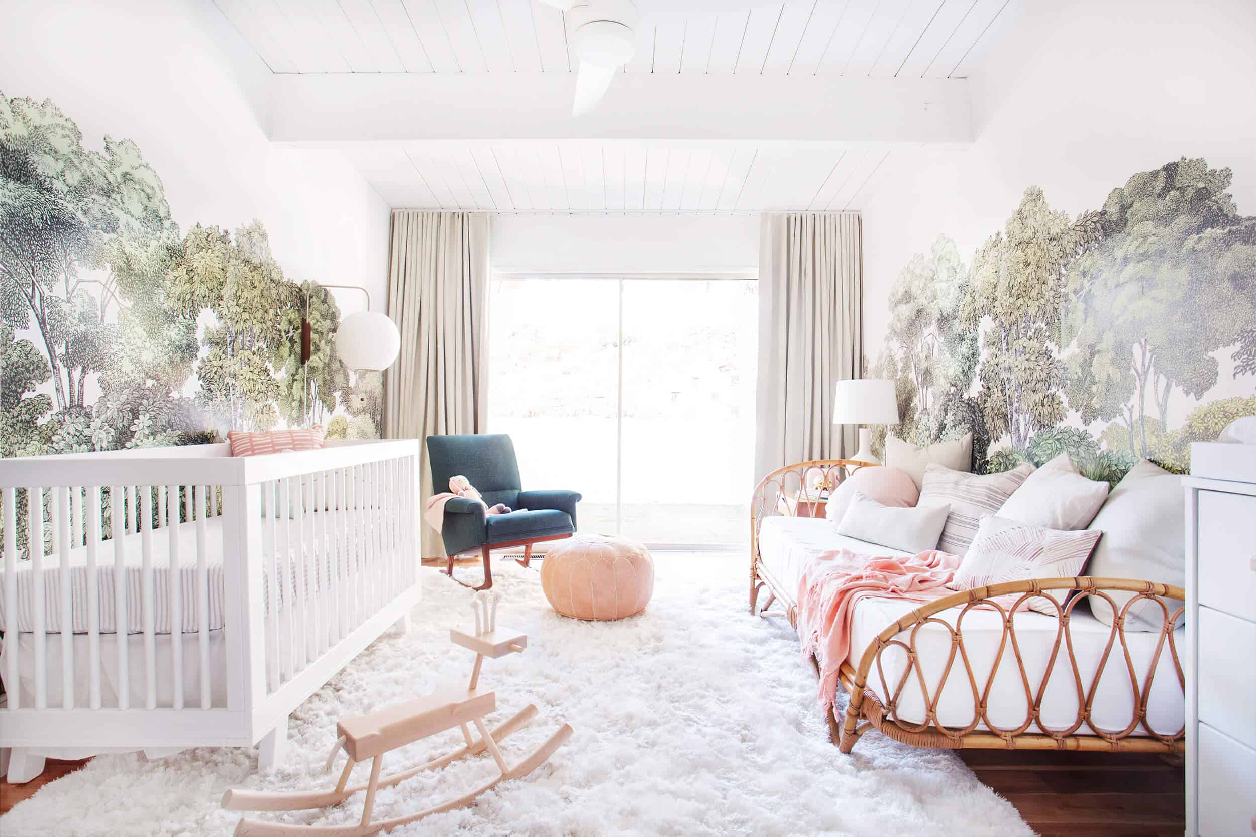 Emily Henderson_Staging to Sell_Guest Room_Light_Natural_Floral_Before_3