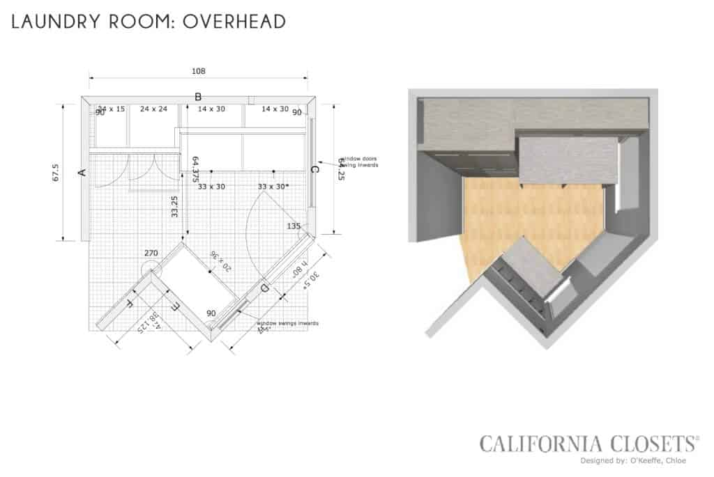 Emily-Henderson_California-Closets_Custom_English-Cottage_Laundry-Room_Mud-Room_OverHead