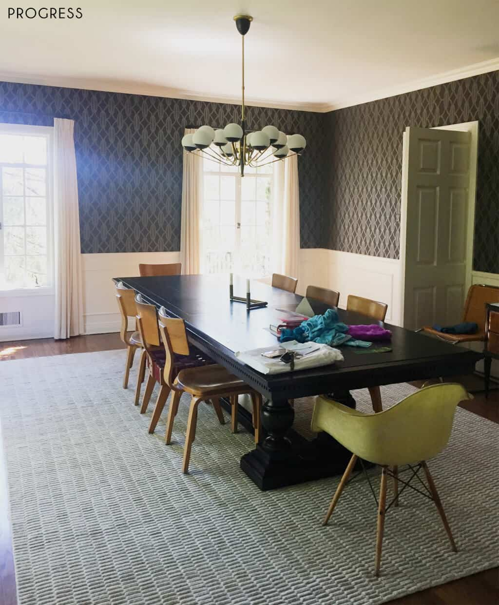 Emily-Henderson_Griffith-Park-Home_Traditional_Italian_Mid-Century_Dining_Room_Progress_6