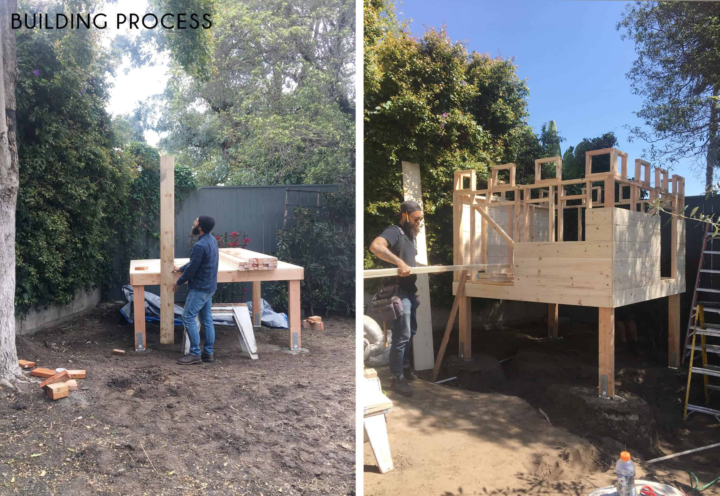 Emily-Henderson_Waverly_Backyard_Playfort_Castle_Building-Process