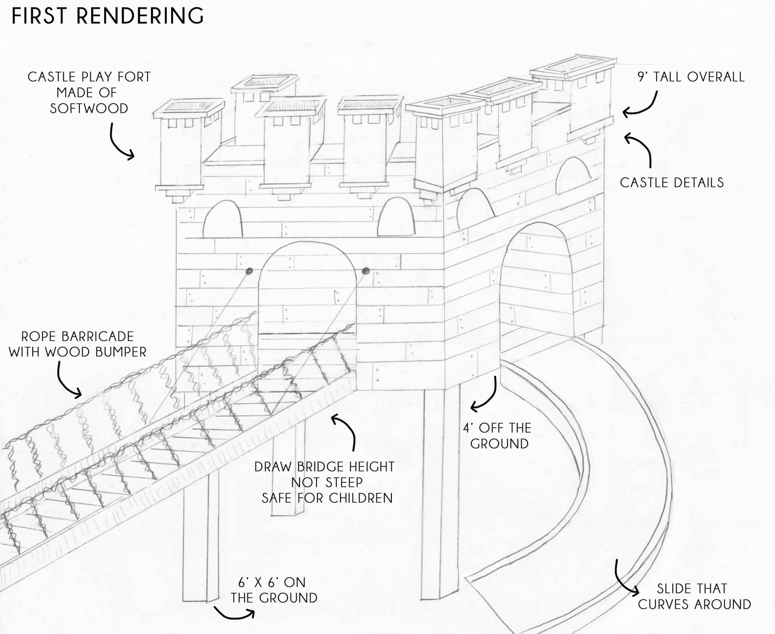 Emily-Henderson_Waverly_Backyard_Playfort_Castle_First-Rendering