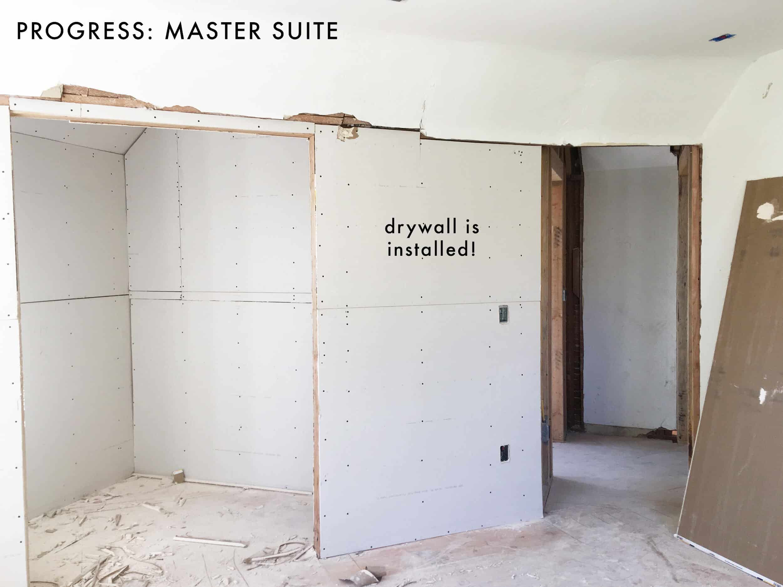 Emily-Henderson_Waverly_Upstairs_Progress_Master-Suite_Drywall