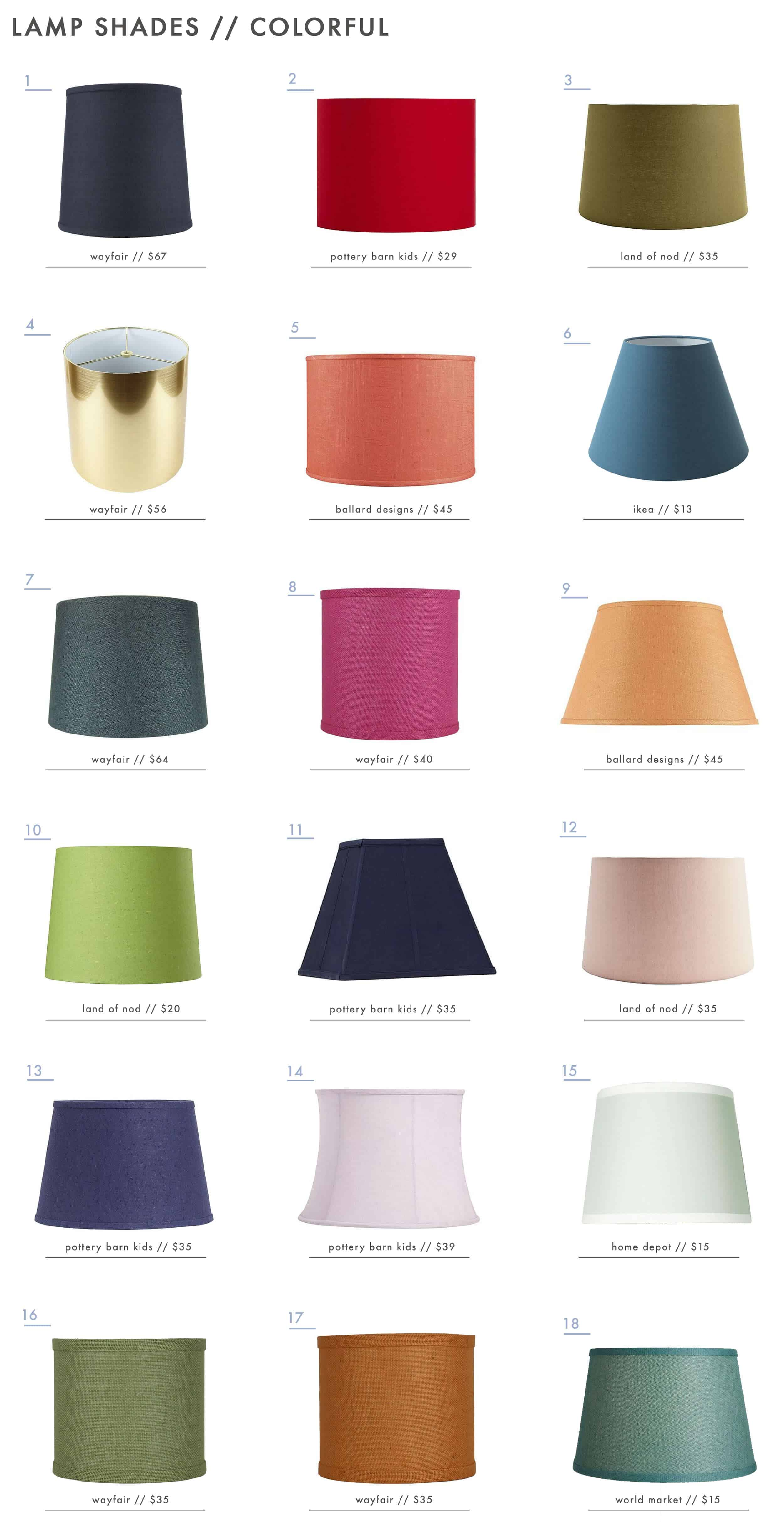 Emily-Henderson_Textured_Patterned_Colorful_Lamp-Shades_Colorful_11