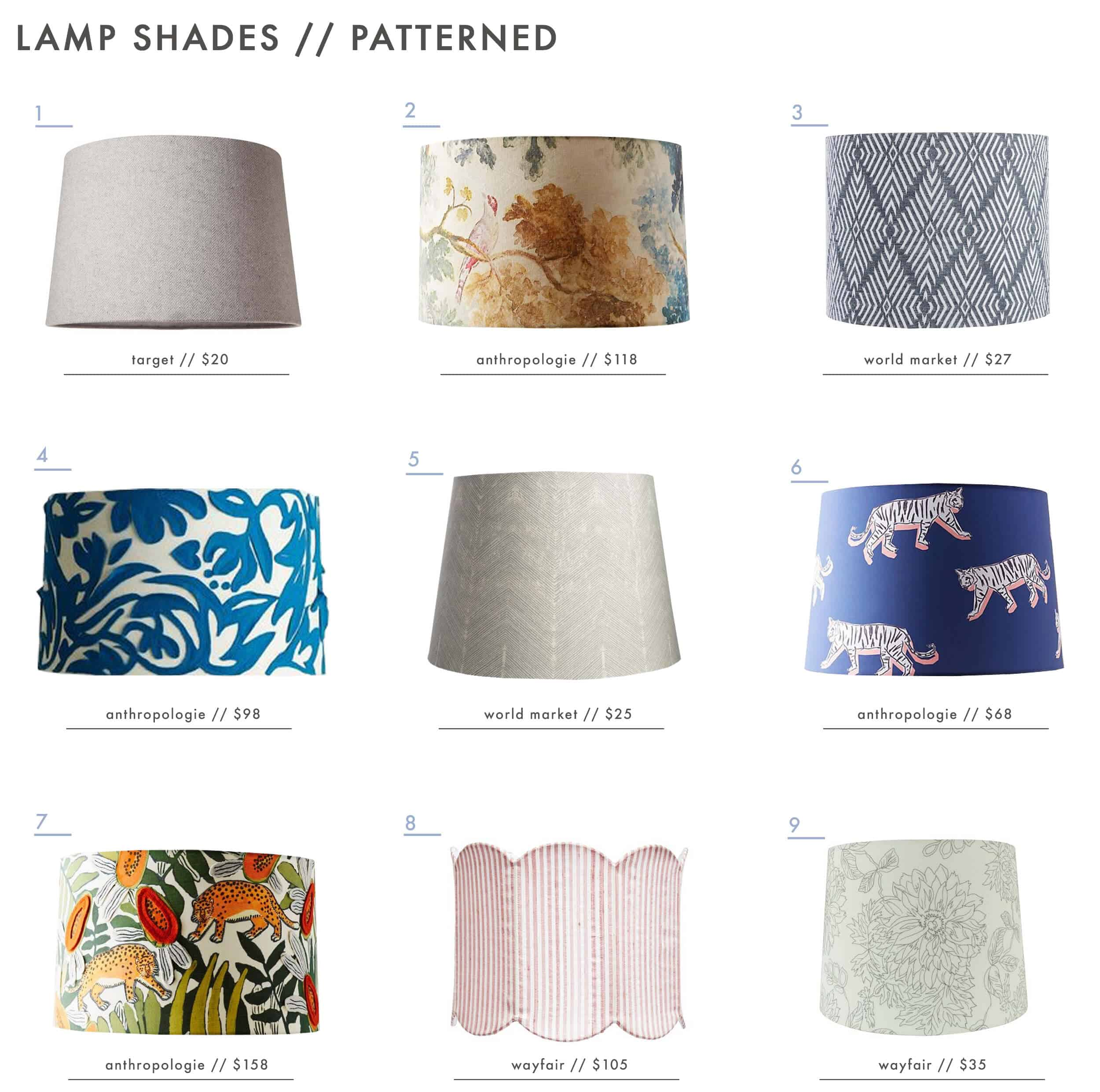 Emily-Henderson_Textured_Patterned_Colorful_Lamp-Shades_Patterned1