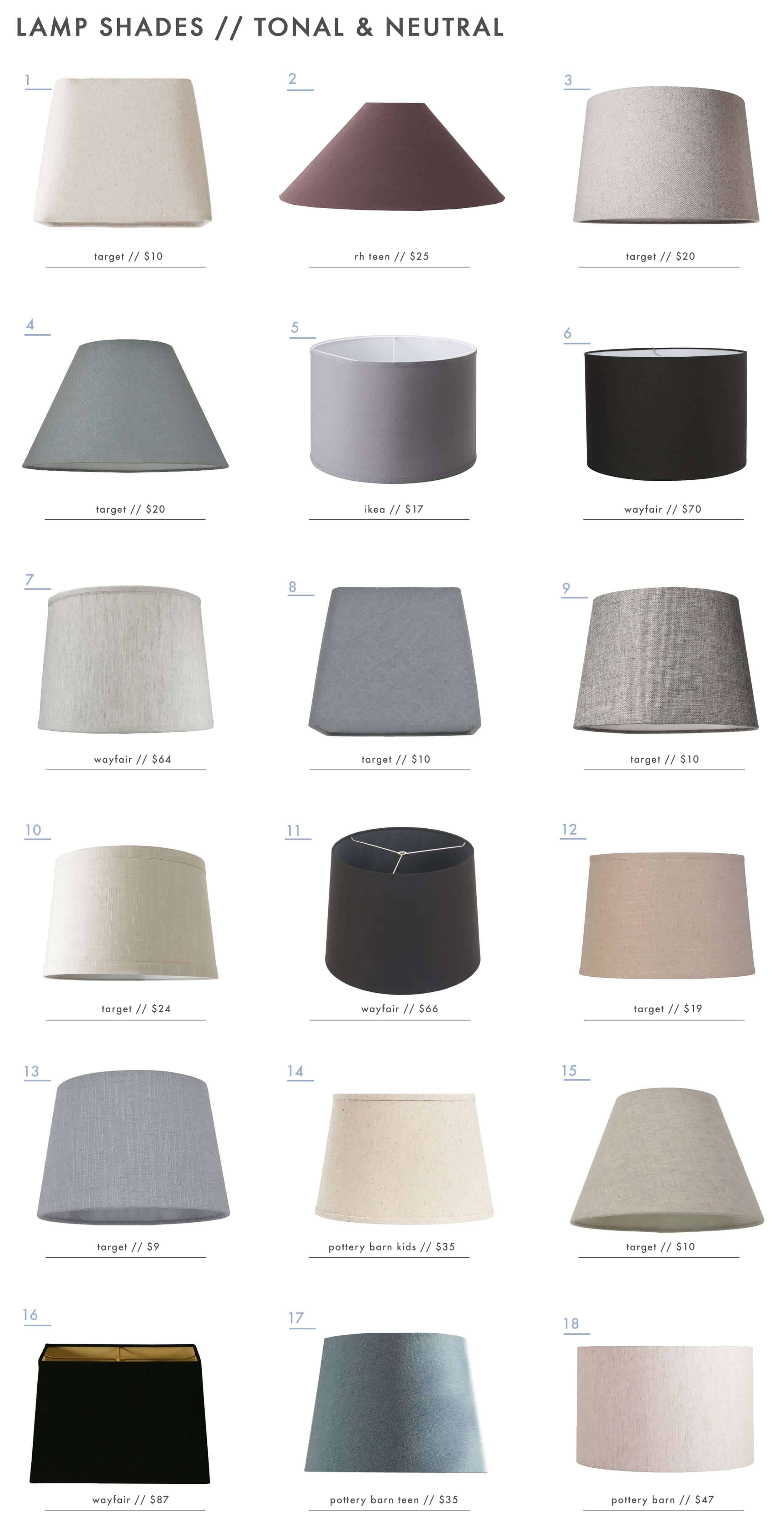 Emily-Henderson_Textured_Patterned_Colorful_Lamp-Shades_Tonal_Neutral