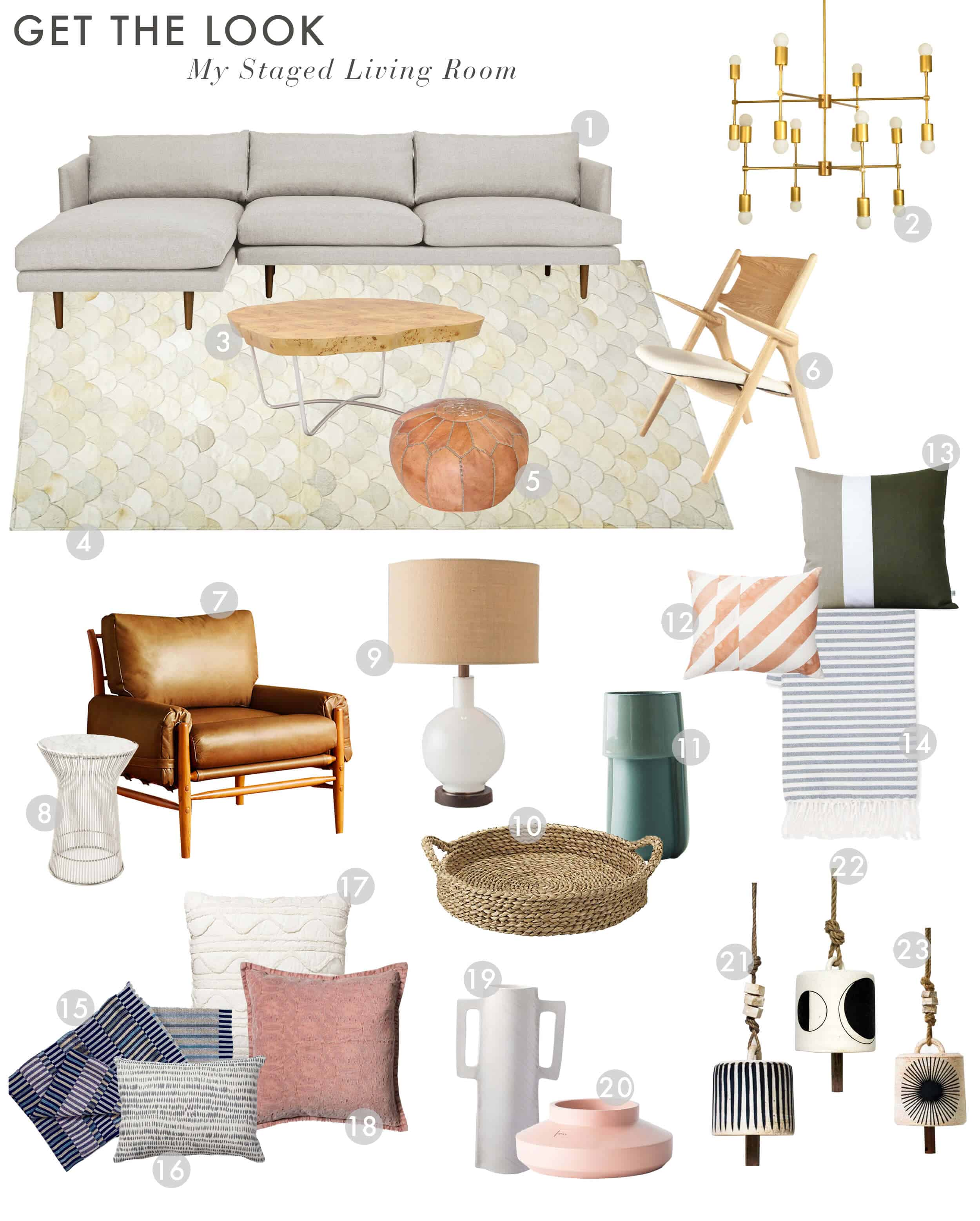 Emily Henderson Home Living Room Staging For Sale Curbed Get The Look1