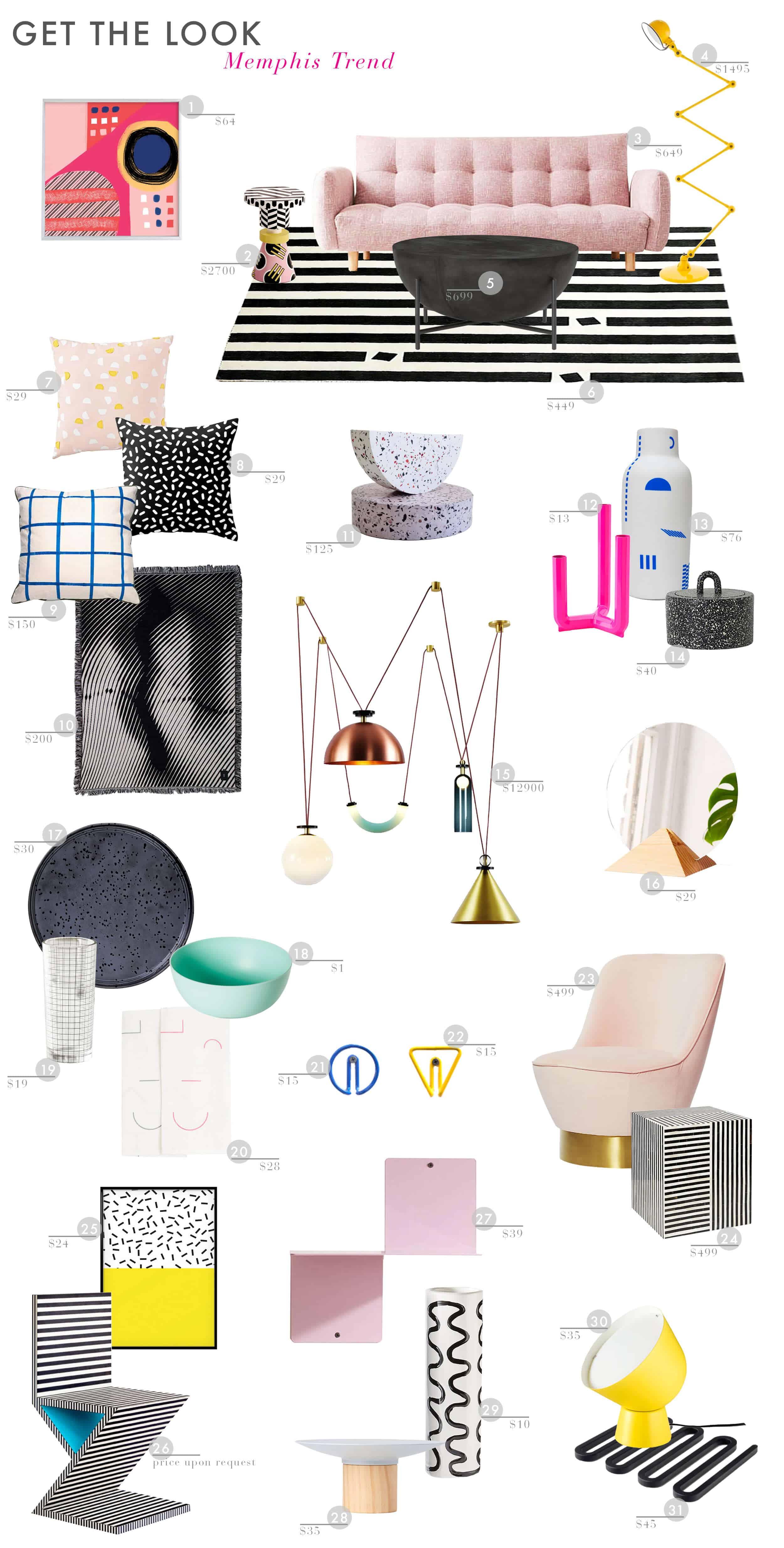 Emily Henderson Trends Design Eighties Mempis Get The Look 11