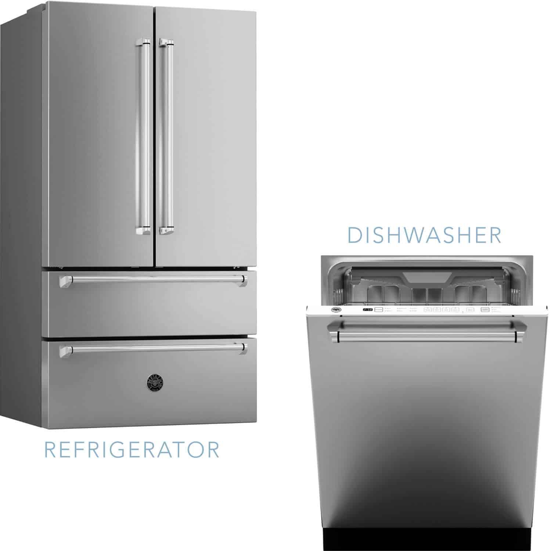 refrigerator-dishwasher