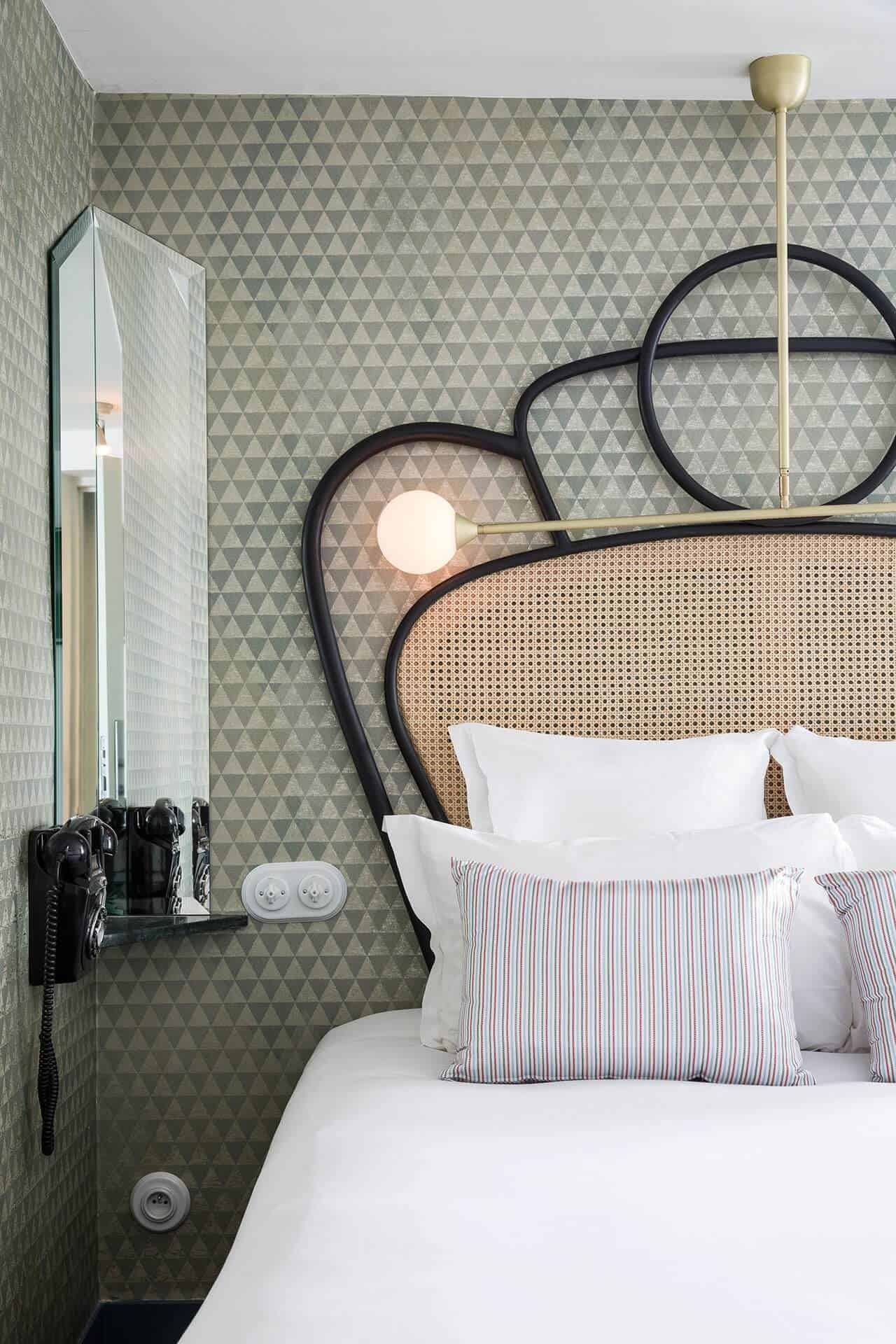 Brady Tolbert Blog Hotel Panache Boutique Hotel Glam French Paris Visit Vacation Modern Design 12
