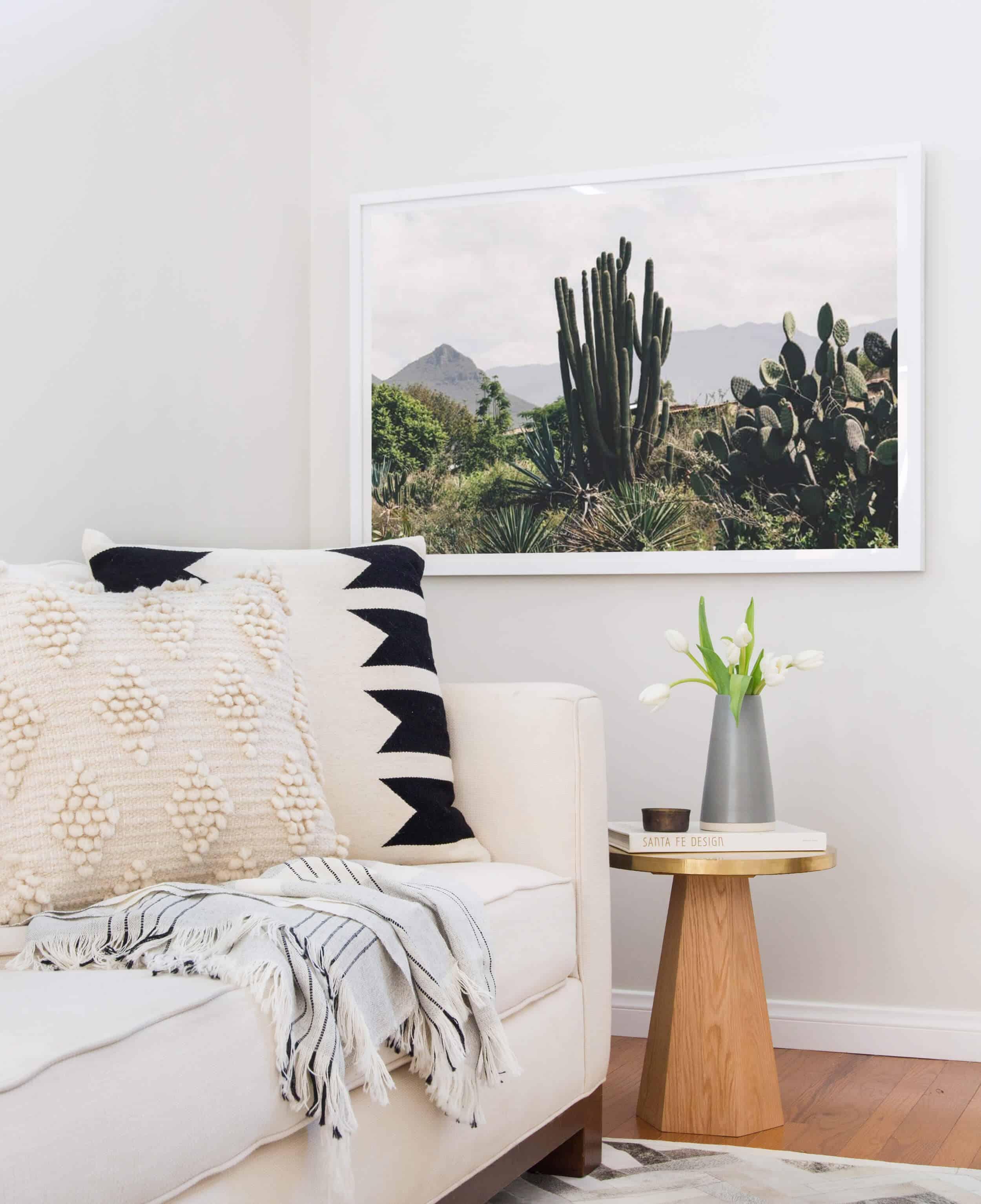Emily Henderson Citizenry Photo Artwork Tessa Living Room Boho 10