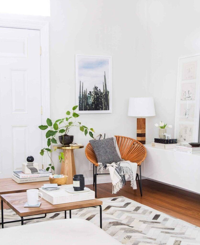 Emily Henderson Citizenry Photo Artwork Tessa Living Room Boho 12