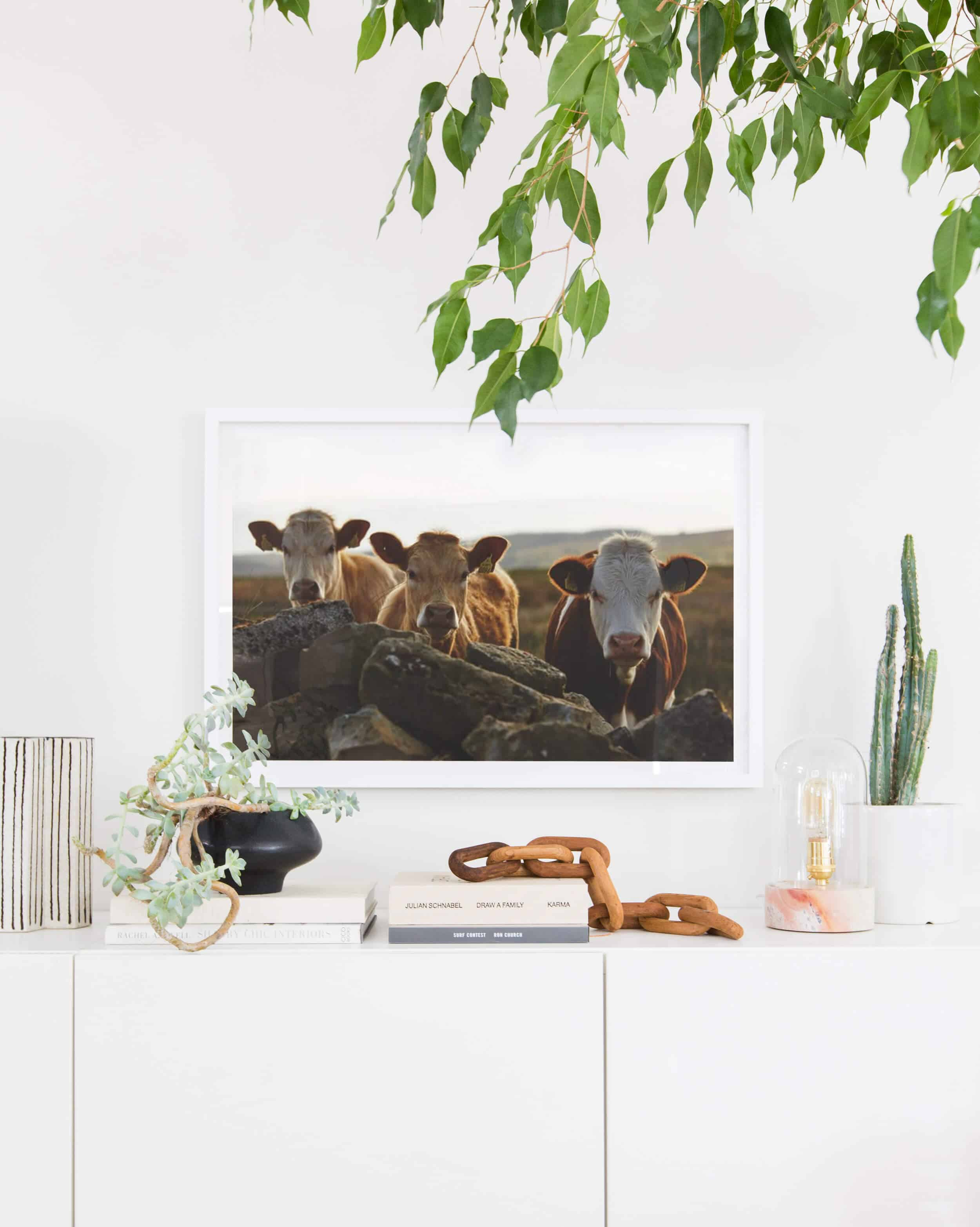 Emily Henderson Citizenry Photo Artwork Tessa Living Room Boho 20