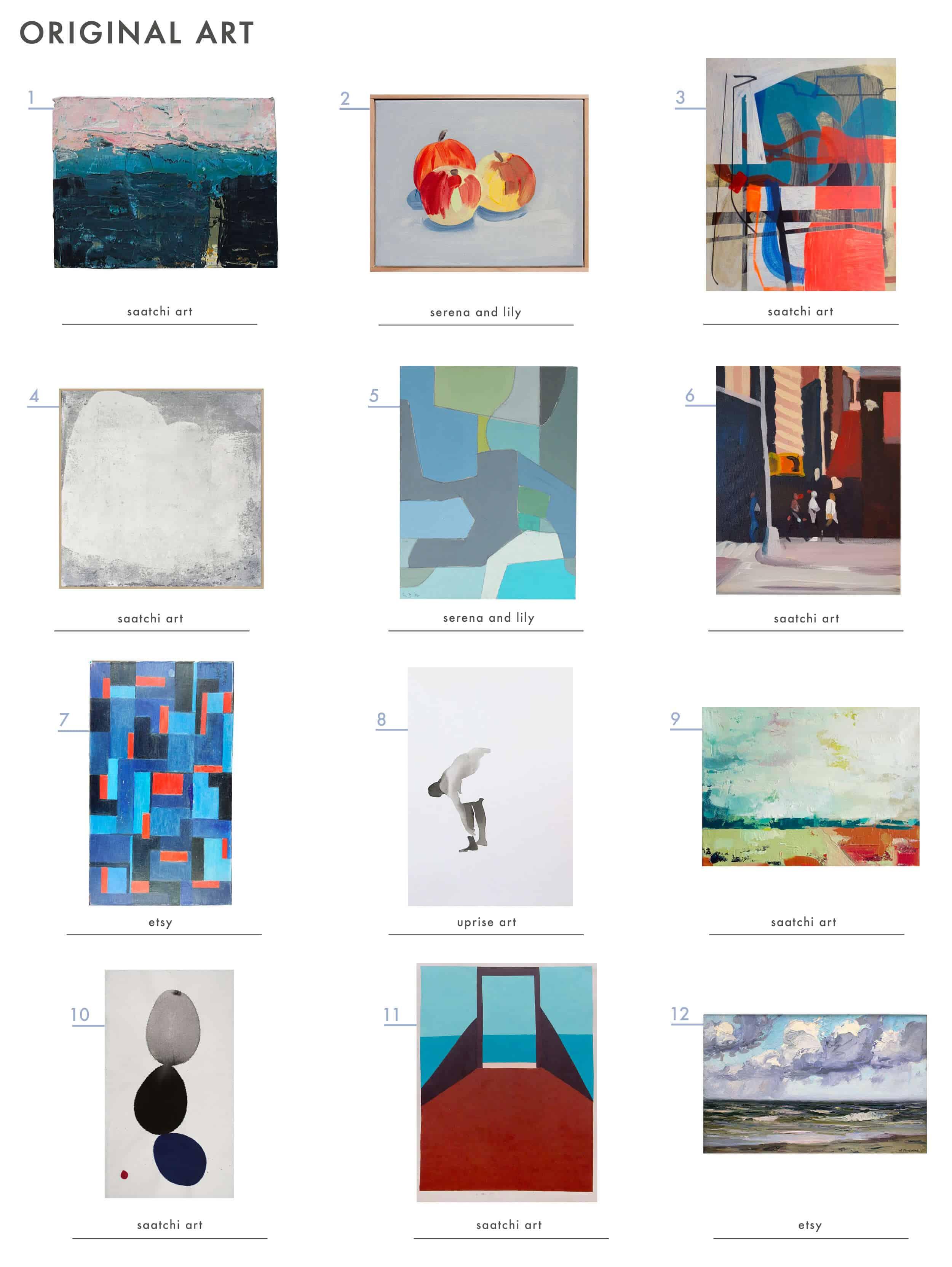 Emily Henderson Design Mistake Genertic Art Good Orignal Art Roundup