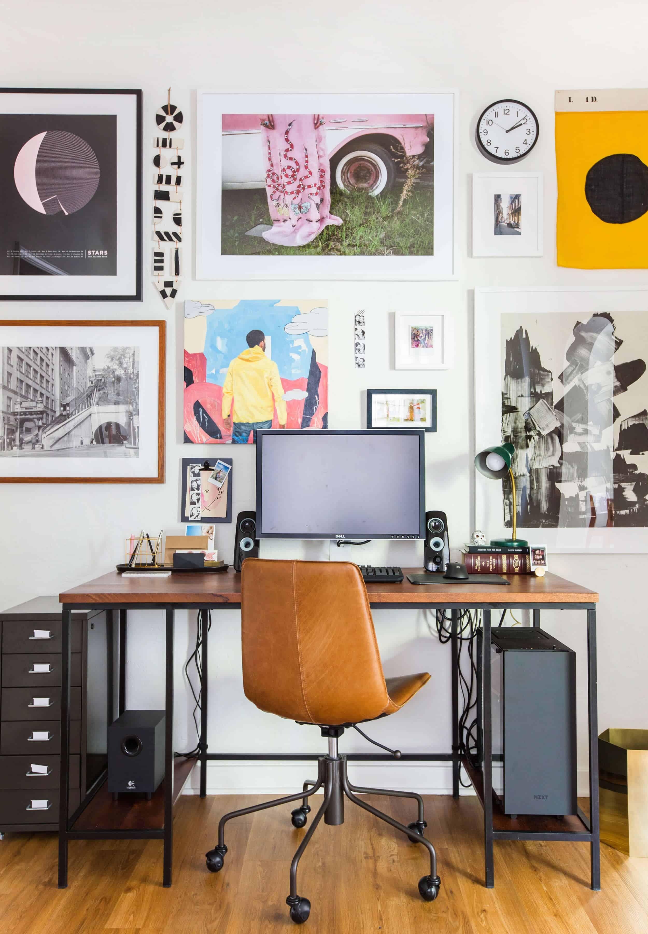 Emily Henderson Office Affordable Desks Under 500 Pics 3