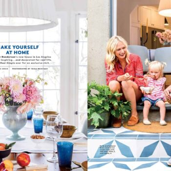 Emily Henderson Real Simple Magazine Sneak Peek 1