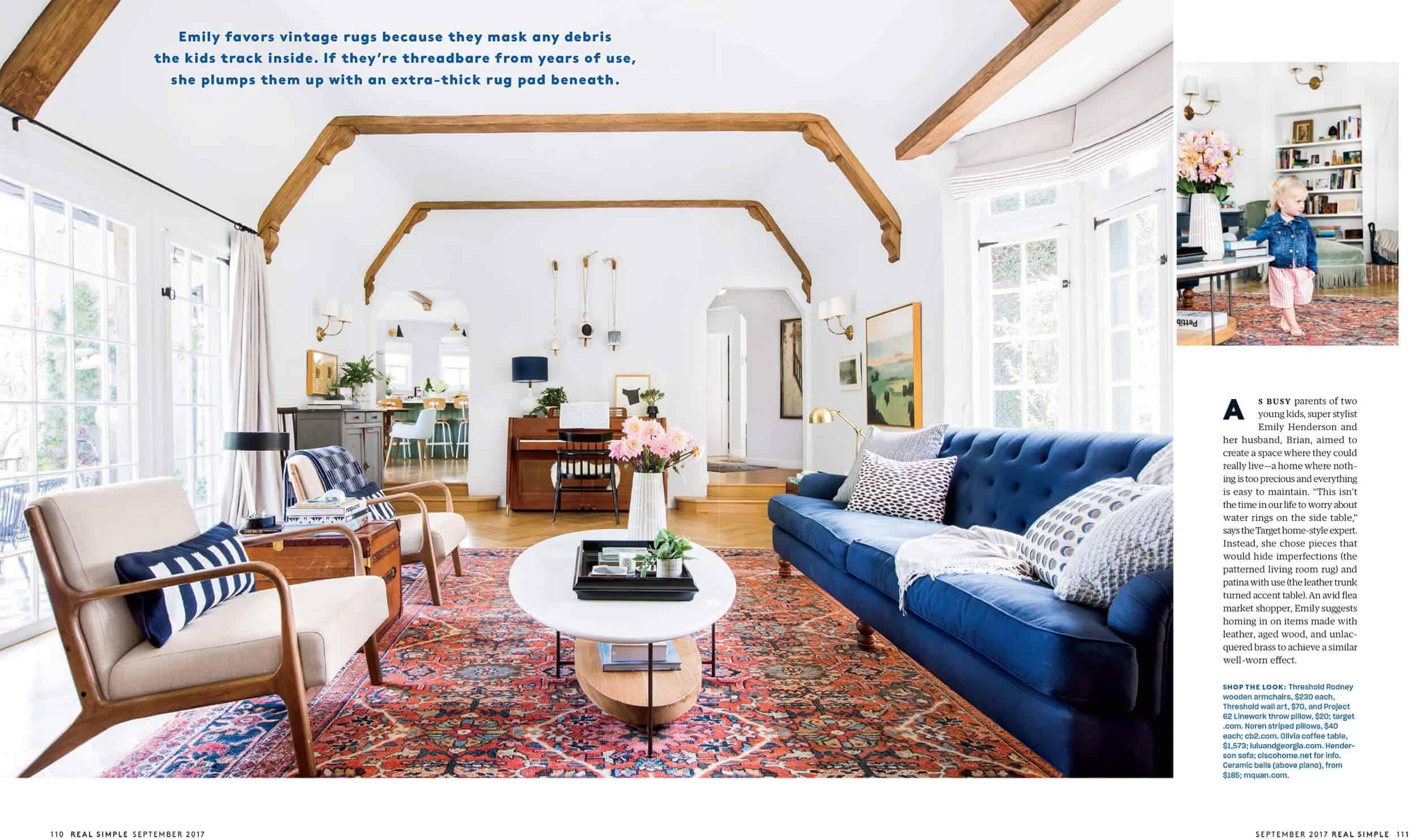 Emily Henderson Real Simple Magazine Sneak Peek 2