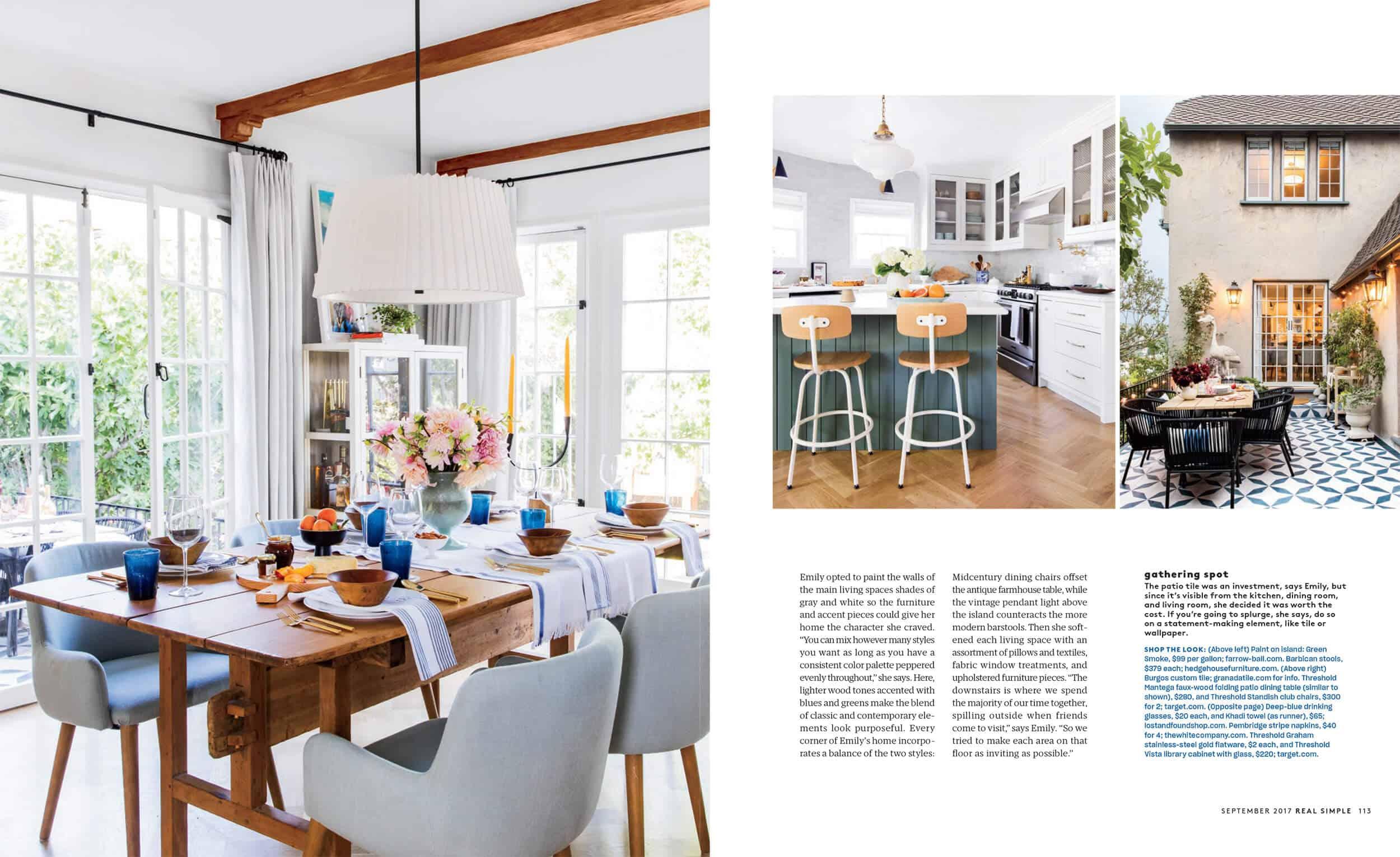 Emily Henderson Real Simple Magazine Sneak Peek 3