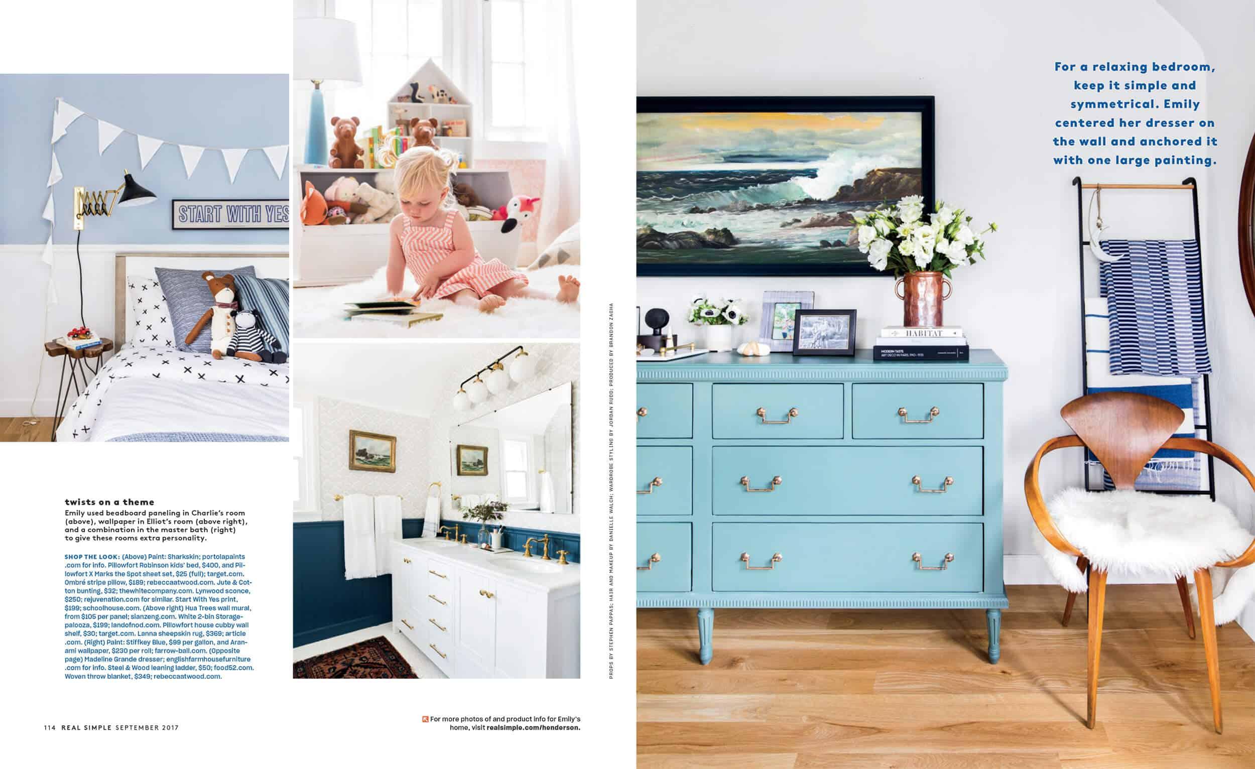 Emily Henderson Real Simple Magazine Sneak Peek 4