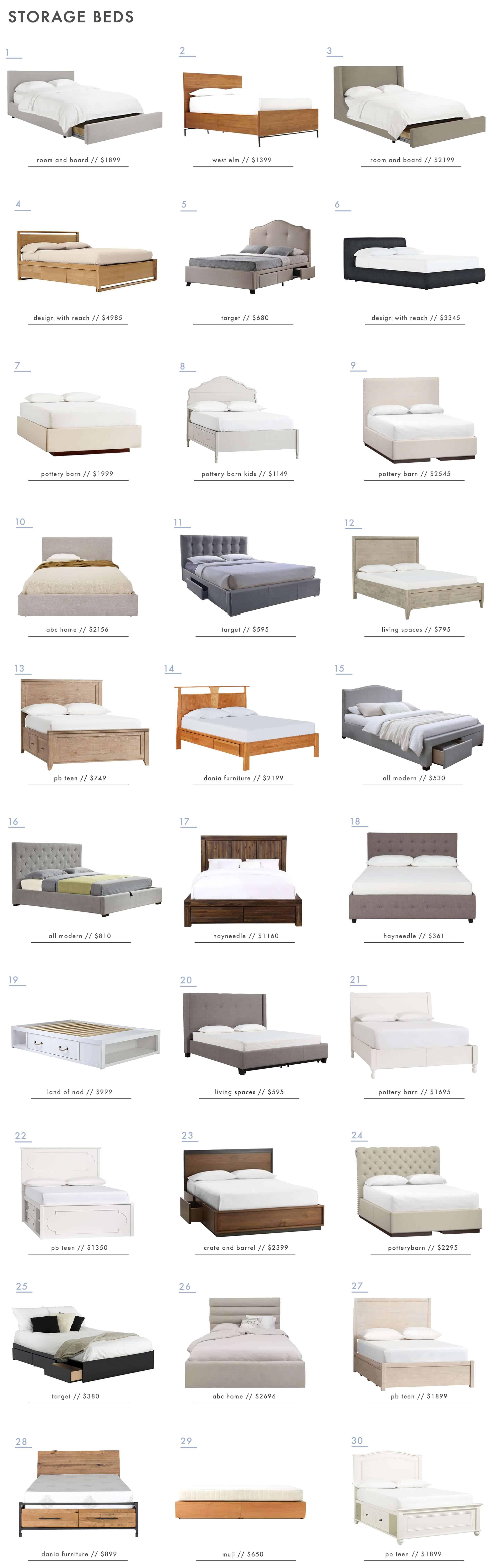 Emily Henderson Storage Beds Full Size Roundup 1