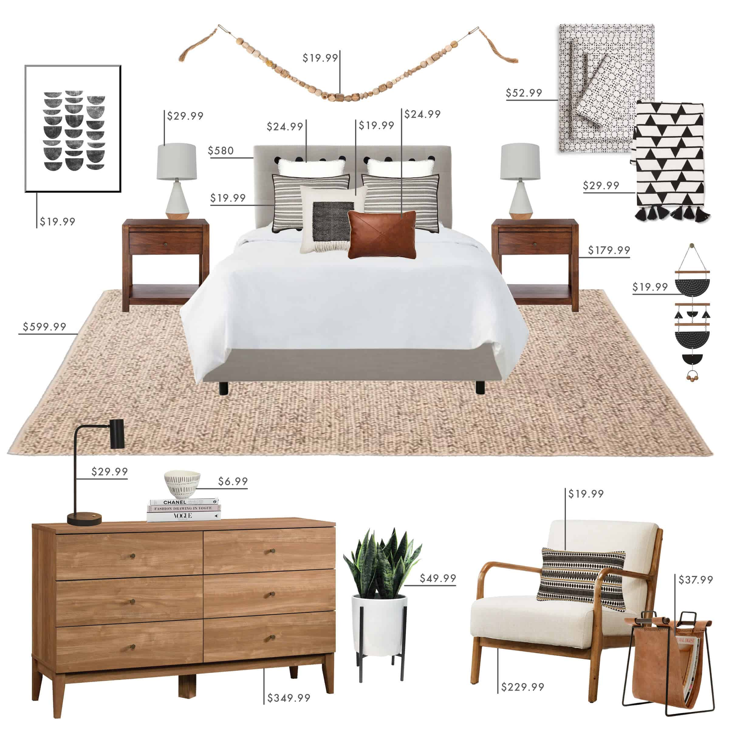 Emily Henderson Target Bedroom California Casual