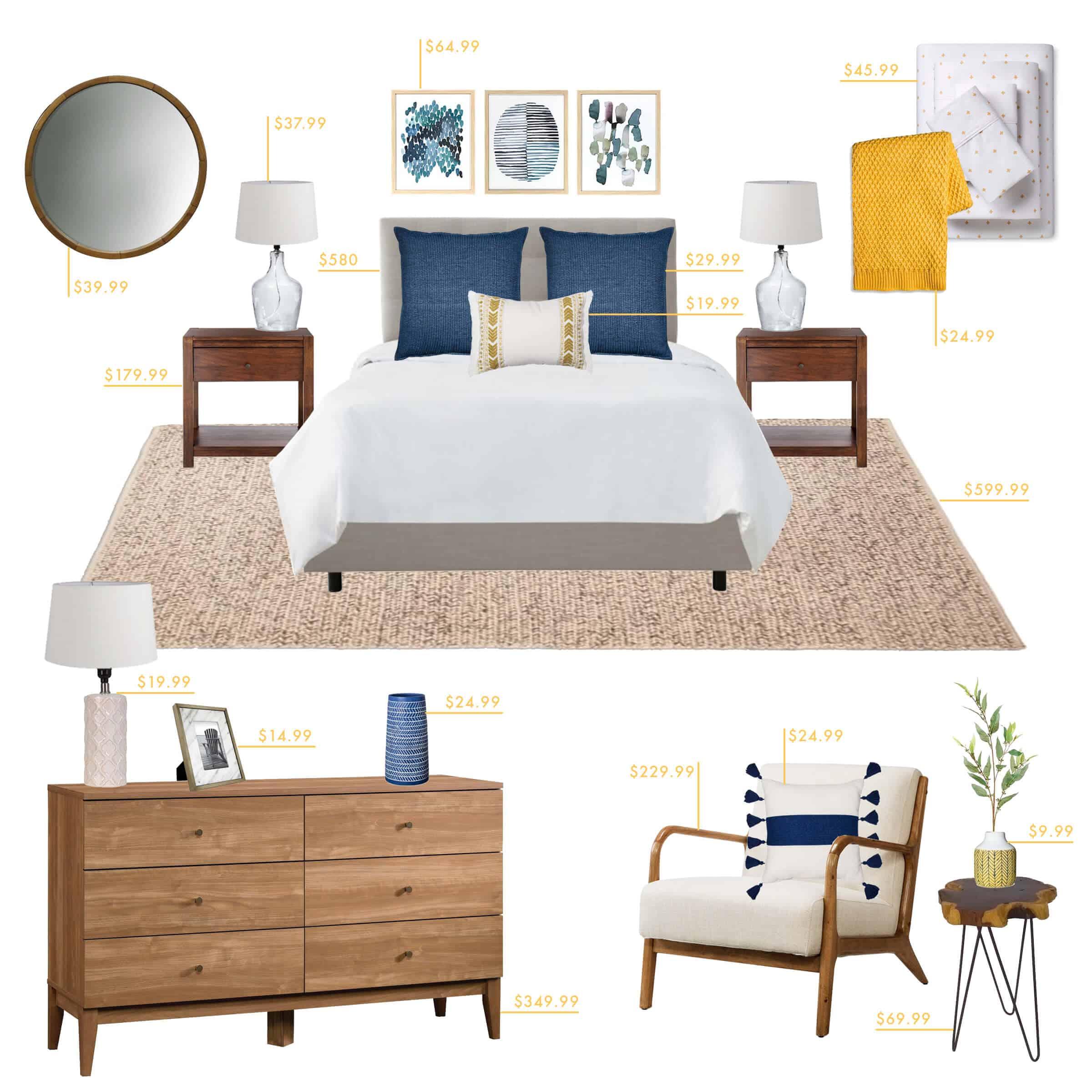 Emily Henderson Target Bedroom Coastal