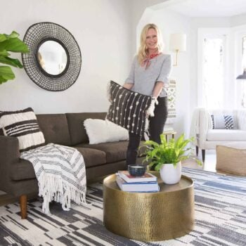 Emily Henderson Target Global Modern Contemporary Living Room 3