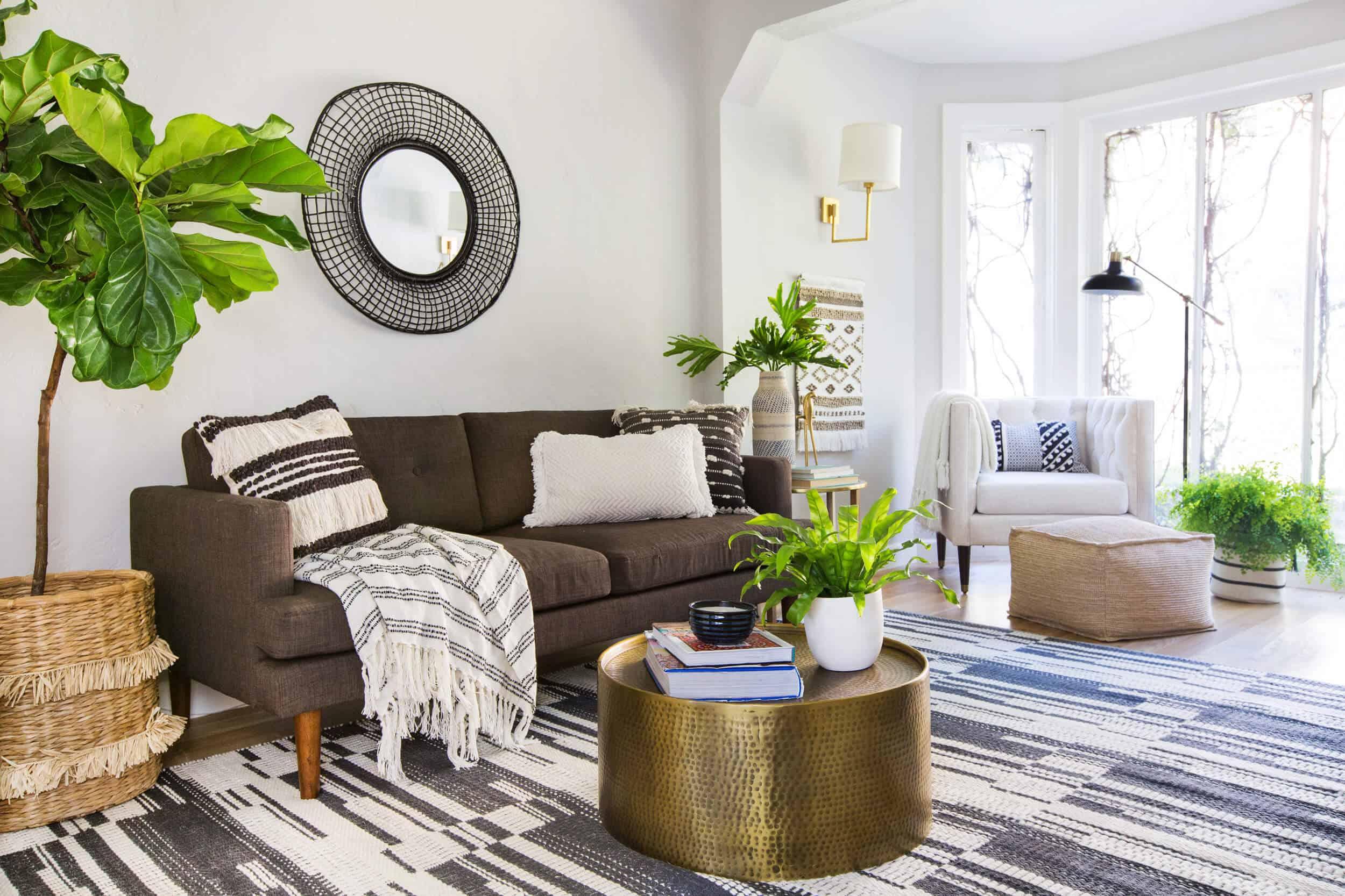Emily Henderson Target Global Modern Contemporary Living Room 4