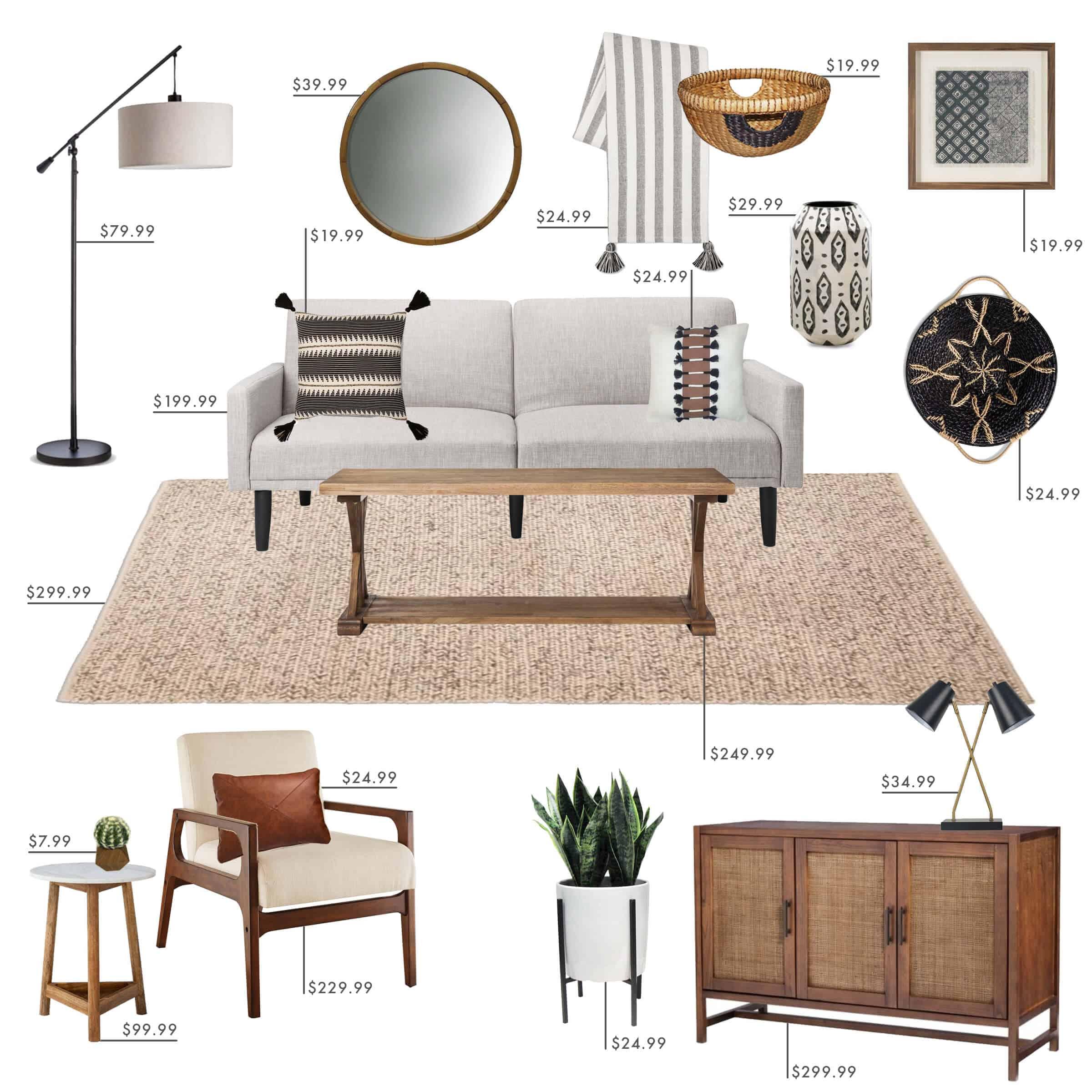 Emily Henderson Target Living Room California Casual