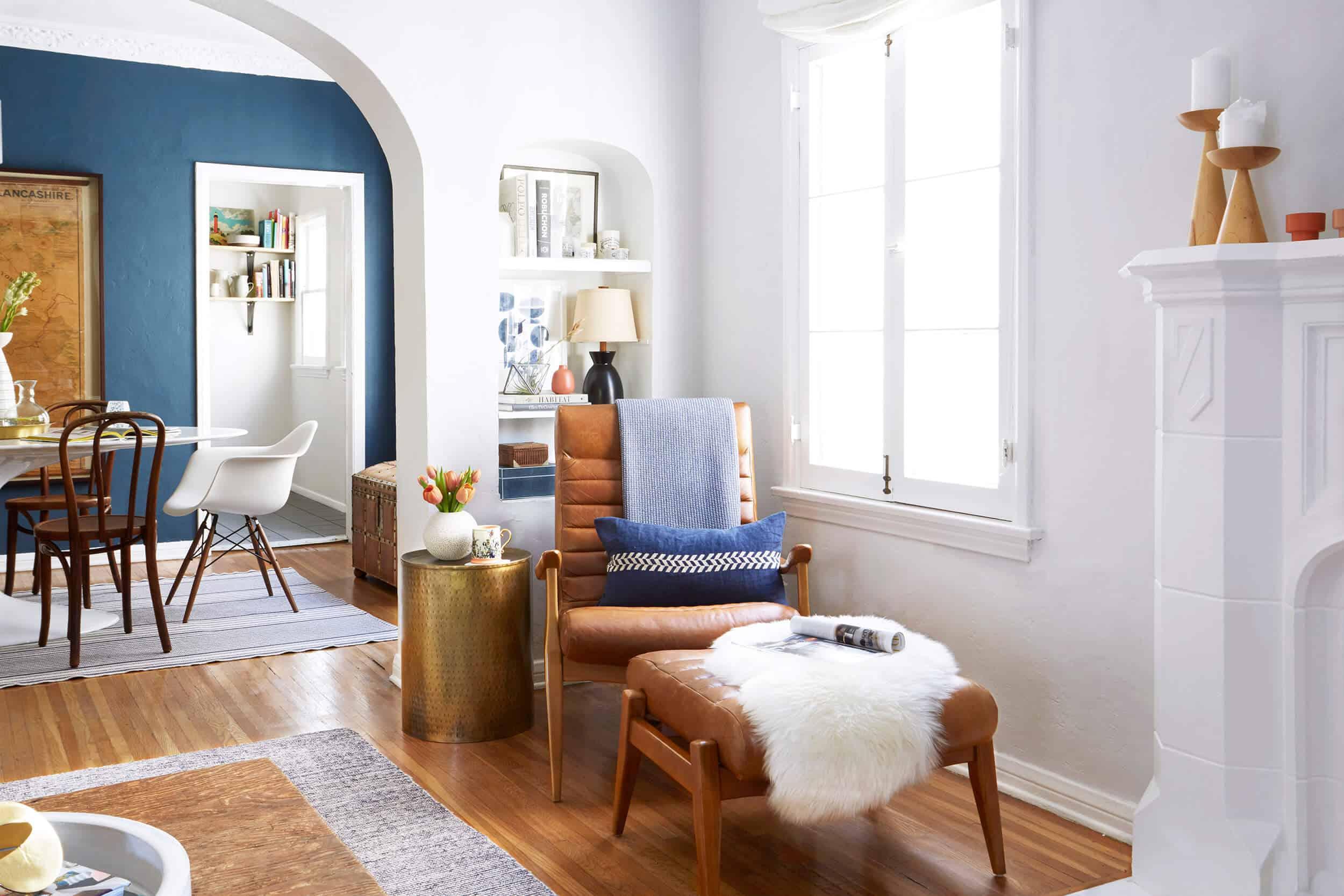 Ginny Macdonald Living Room Nook