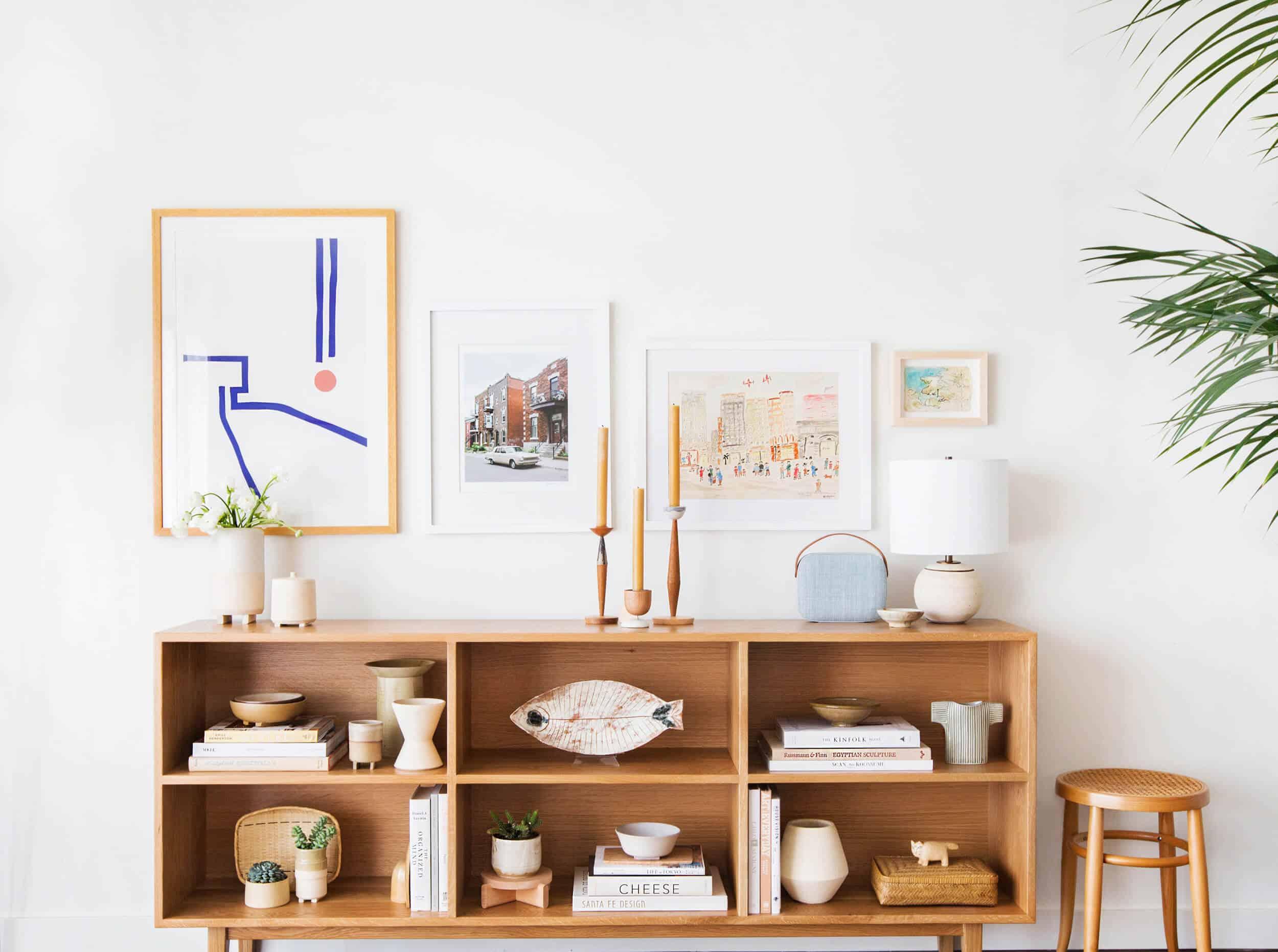 Melanie Burstin Makeover Takeover Emily Henderson Living Room Minimal Japanese Neutral 11