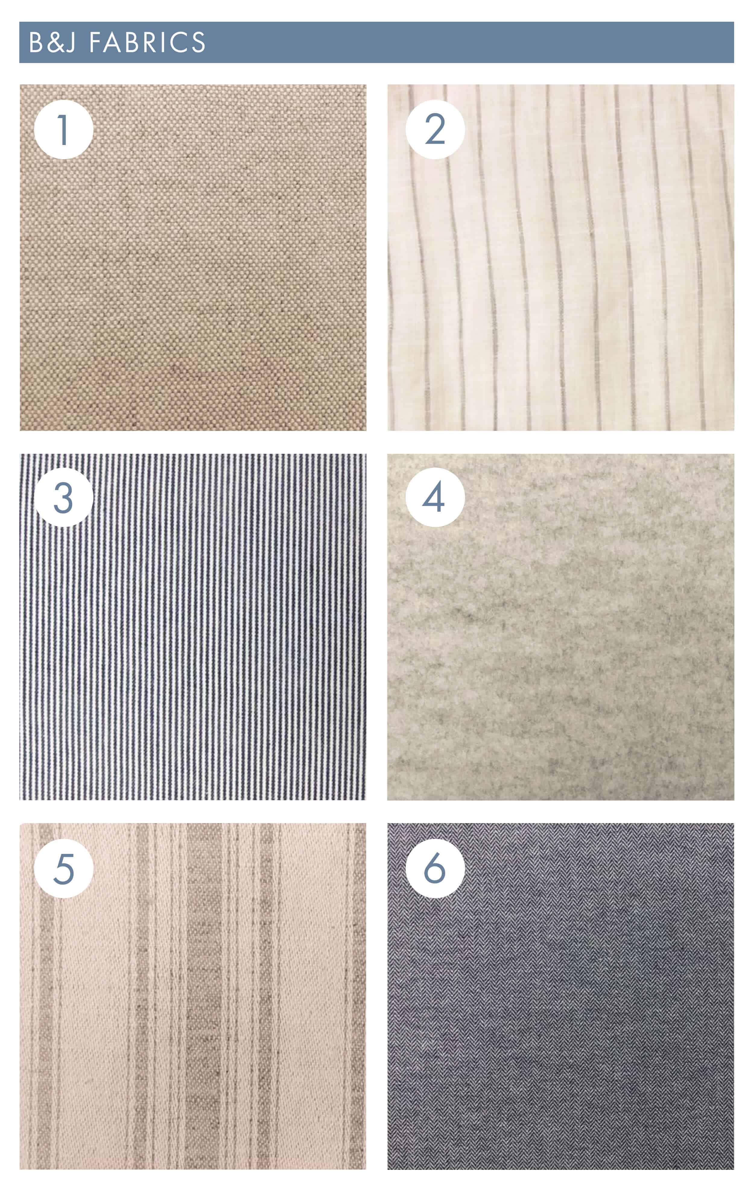 Bj Fabrics 20171