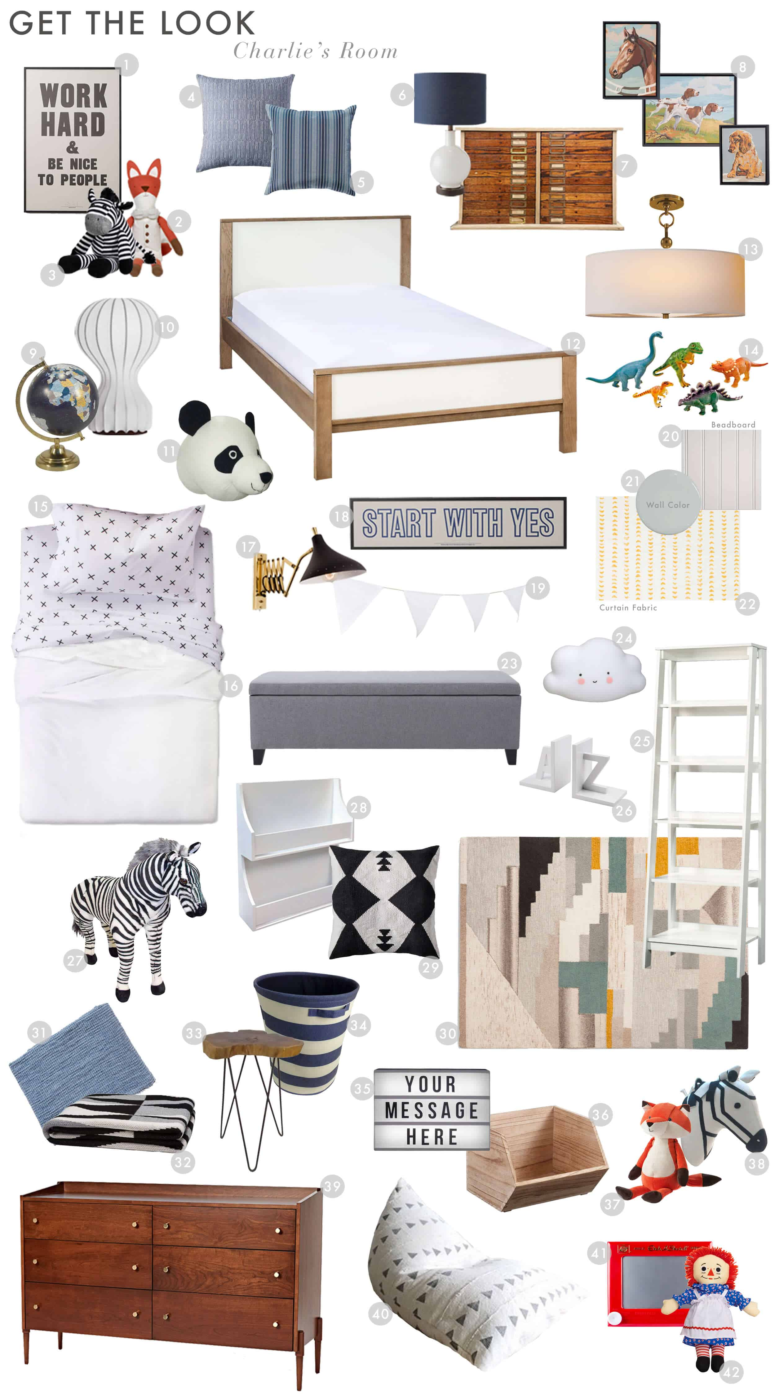 Emily Henderson Emilys House English Modern Tudor Charlies Room Reveal Get The Look Final 01