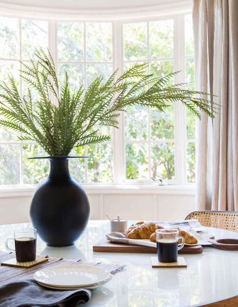 Emily Henderson Griffith Park House Traditional Italian Modern Dining Nook Reveal 03